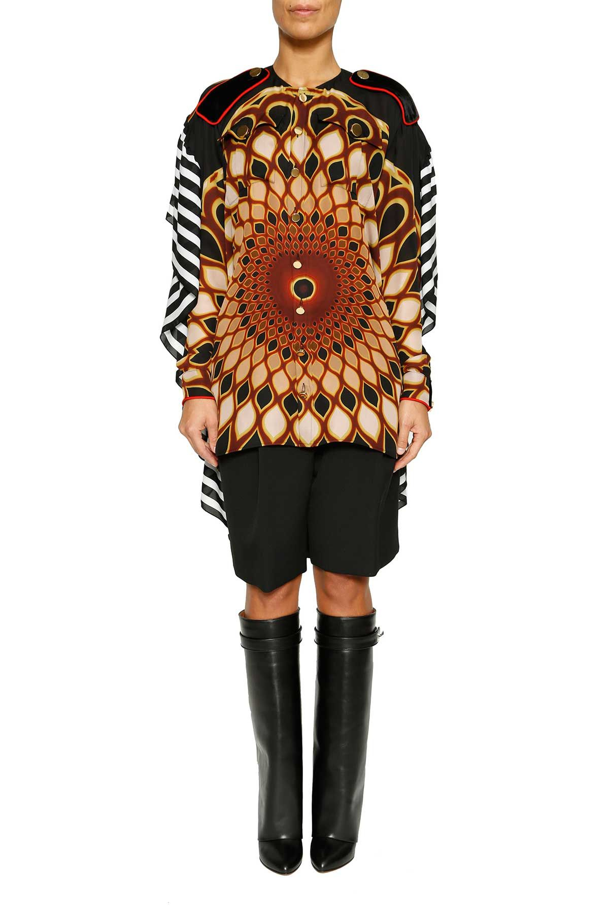 Givenchy kaleido Eye Printed Long Top