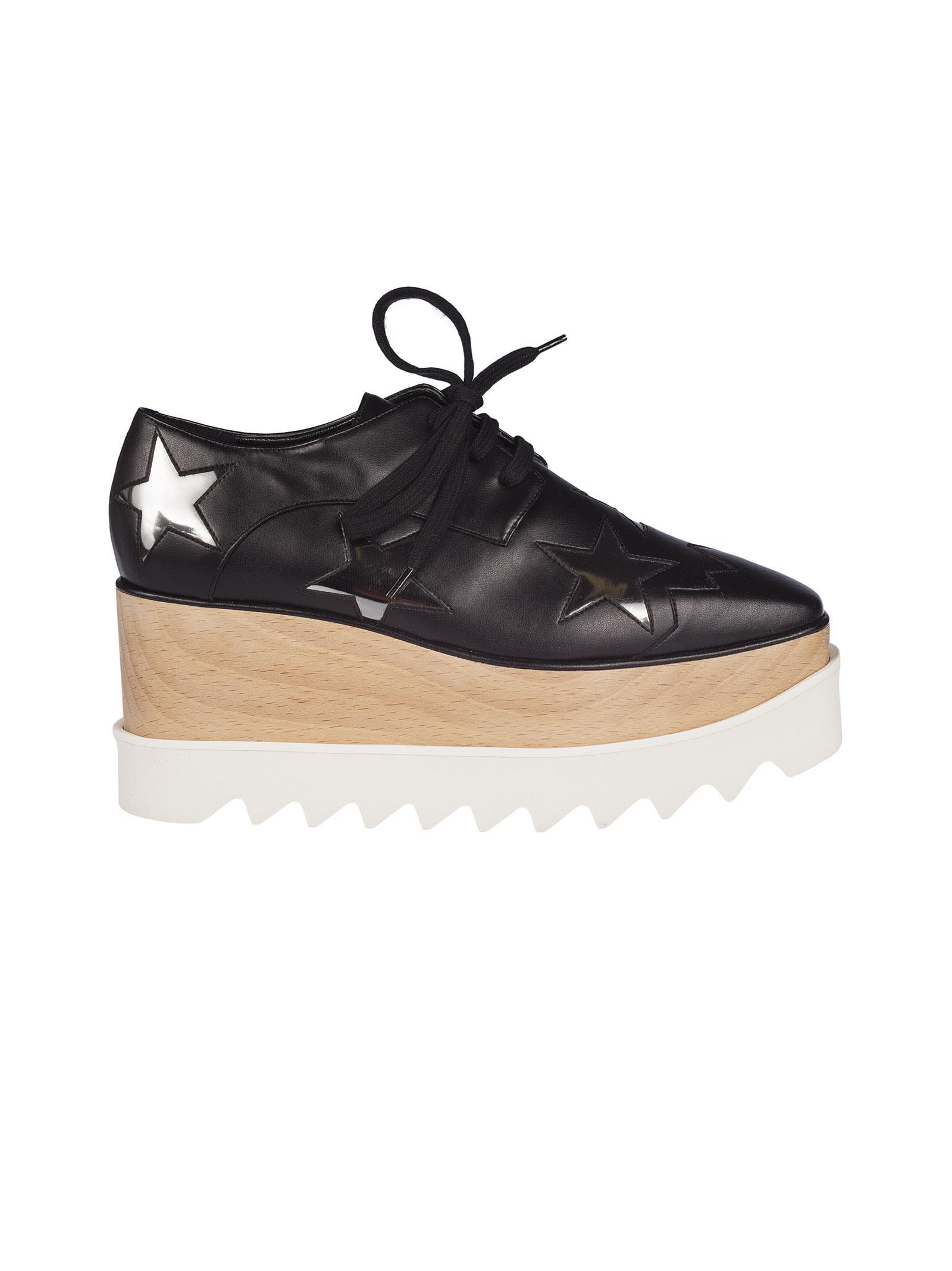 Stella Mccartney Zinc Elyse Star Platform Derby Shoes