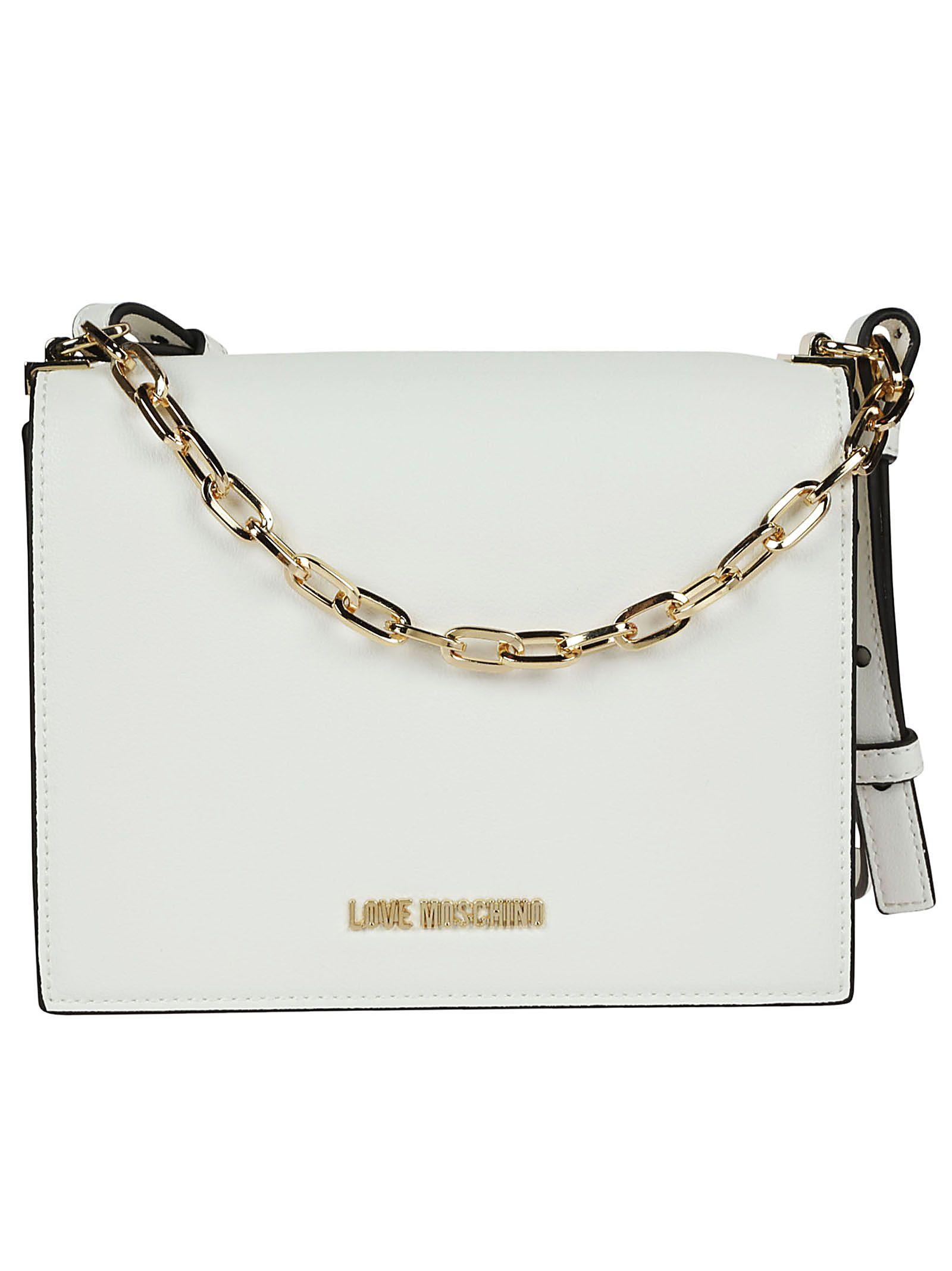 Moschino Chain Strap Crossbody Bag