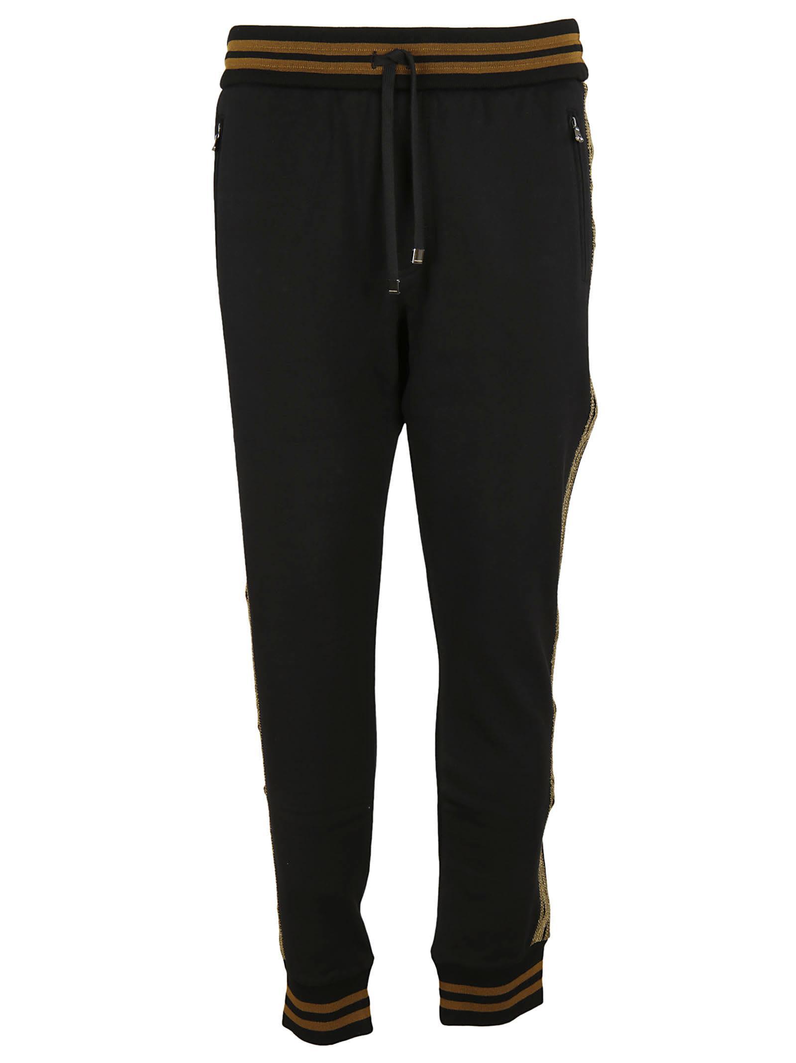Dolce & Gabbana Striped Detail Track Pants