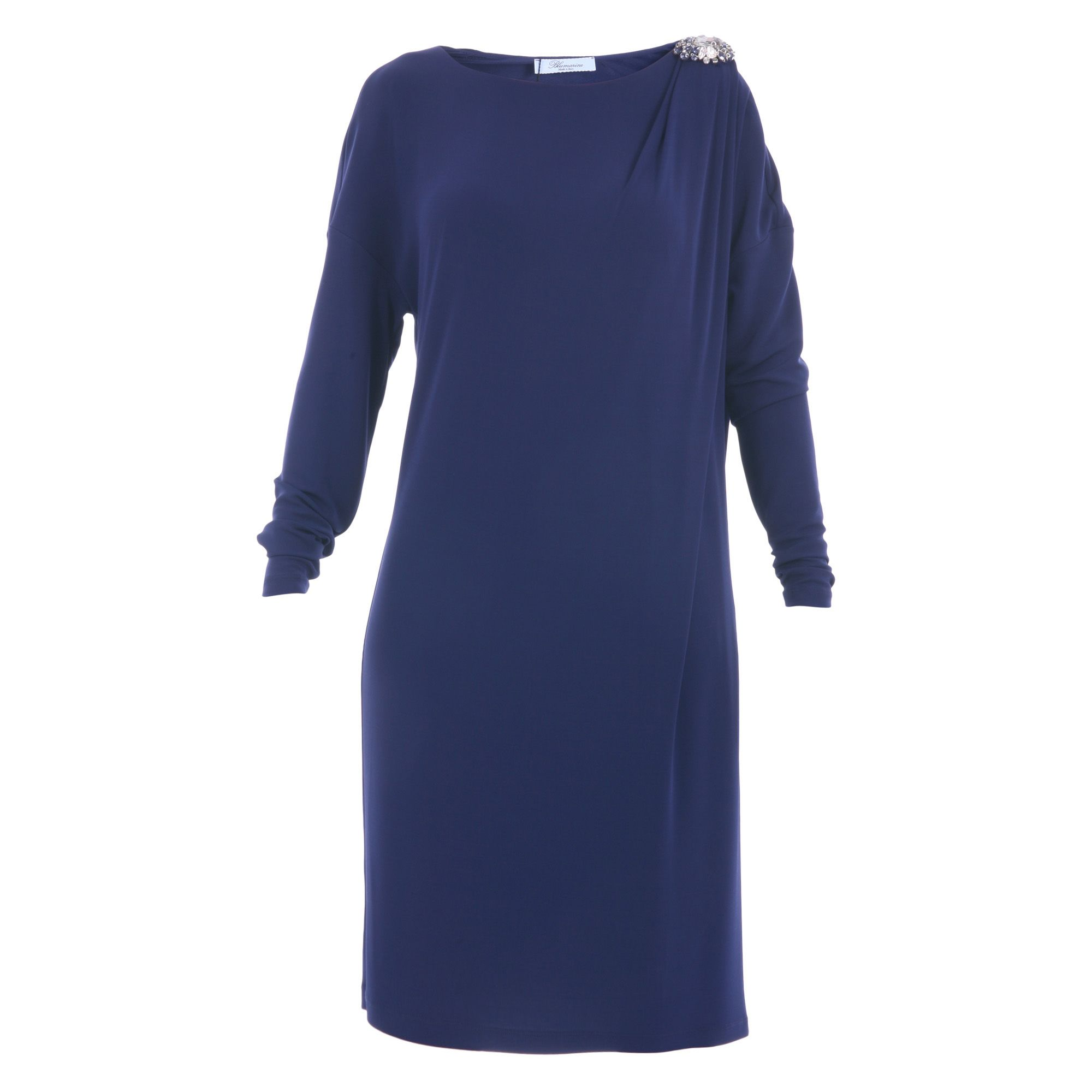 Blumarine Viscose Jersey Lined Dress