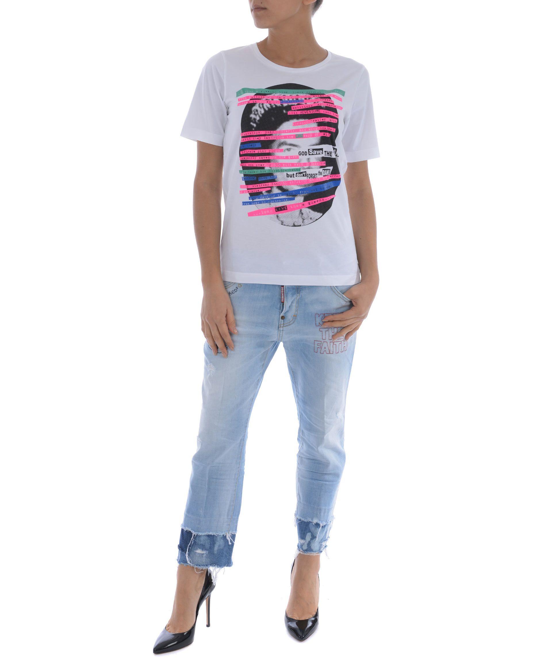 Dsquared2 Queen T-shirt