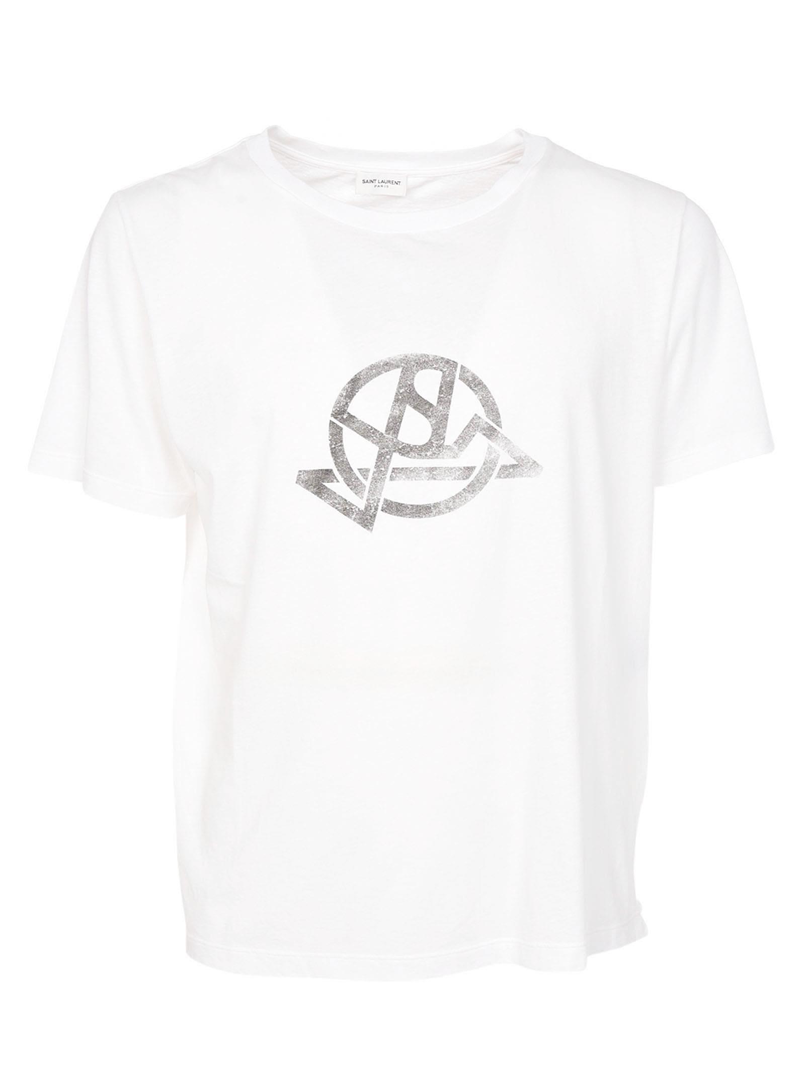 Saint Laurent New Logo T-shirt