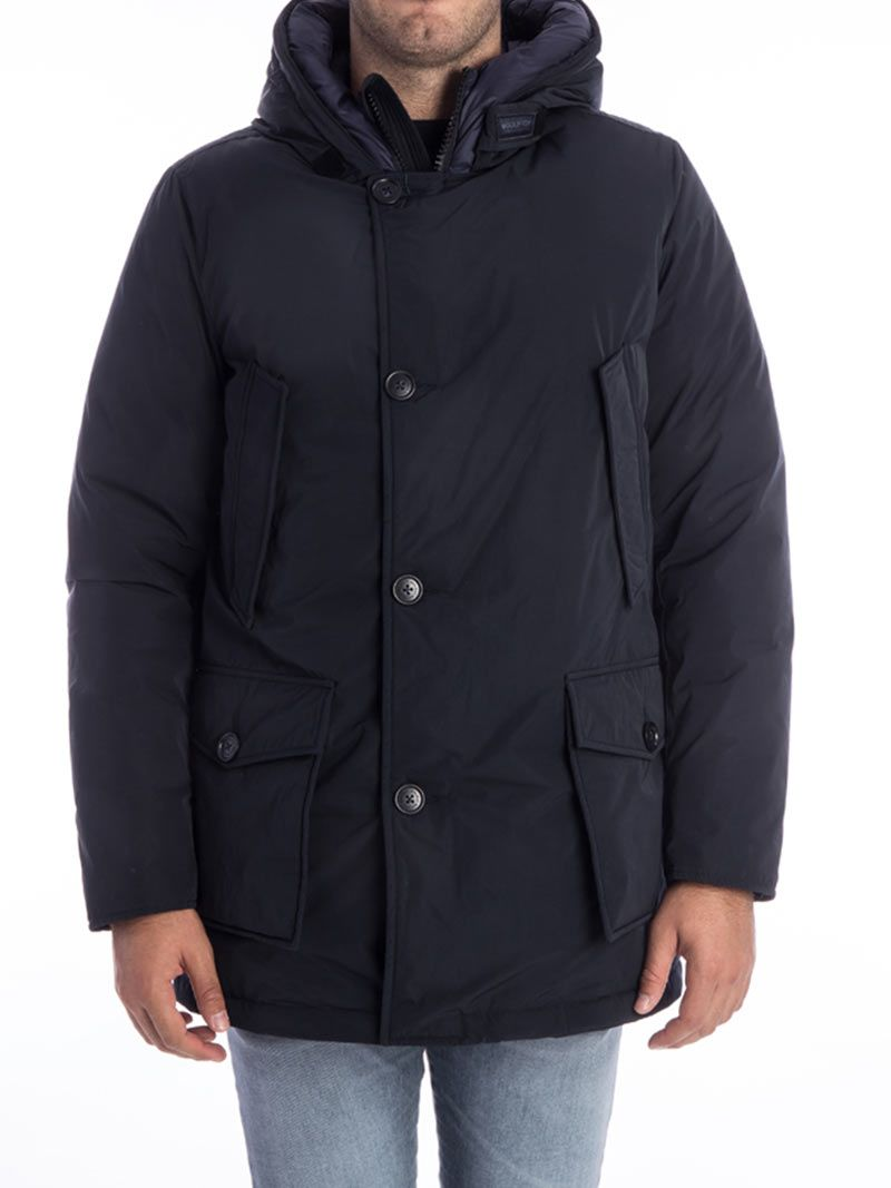 woolrich woolrich city arctic parka blue men 39 s blazers italist. Black Bedroom Furniture Sets. Home Design Ideas
