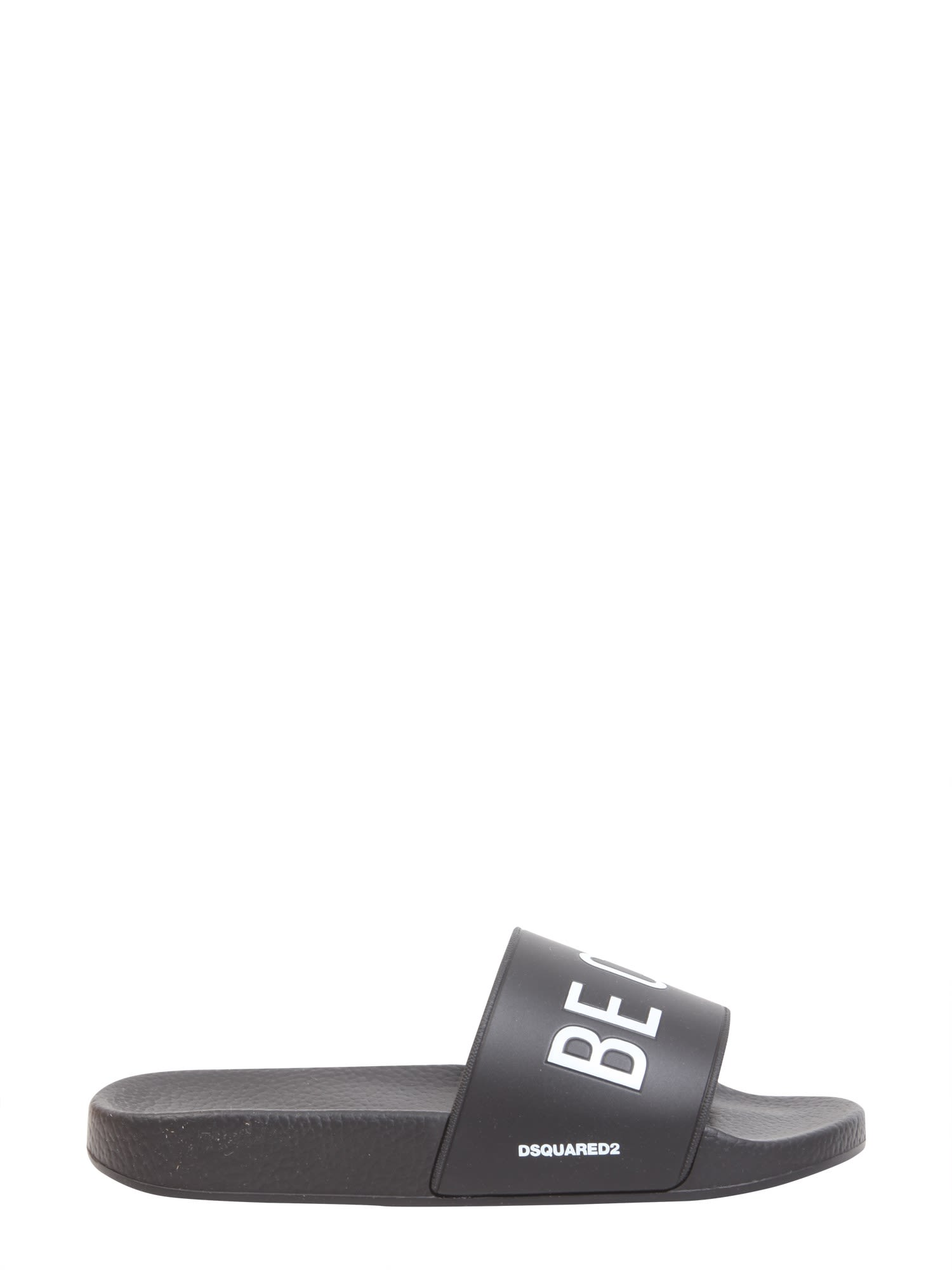 Be Cool Be Nice Slide Sandals