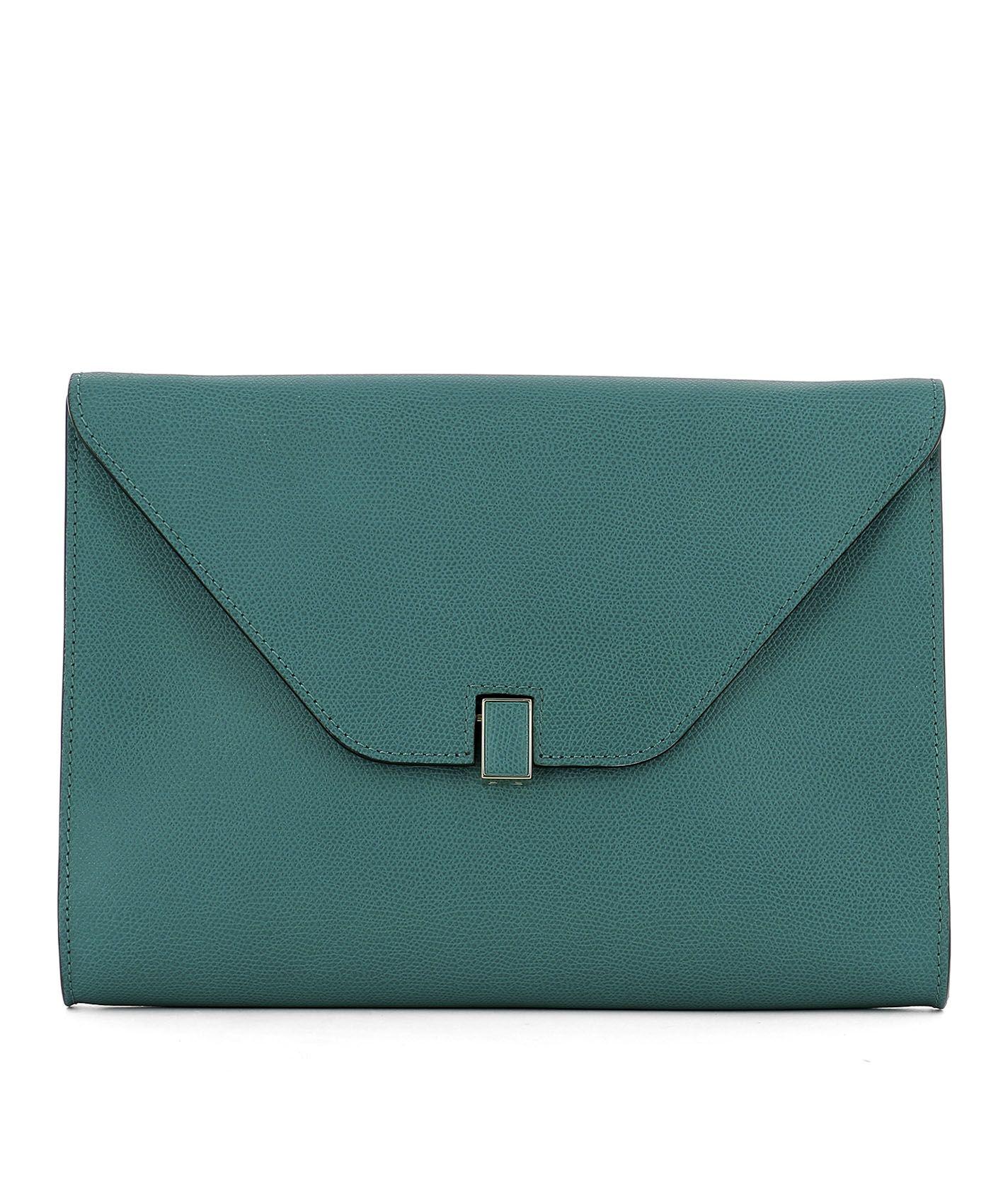 Green Leather Pochette
