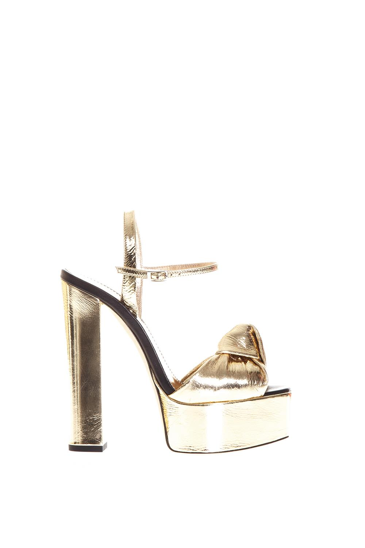 Giuseppe Zanotti Barbra Metallic Leather Sandals