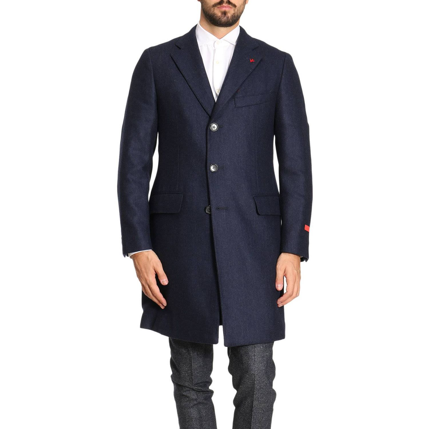 Coat Coat Men Isaia