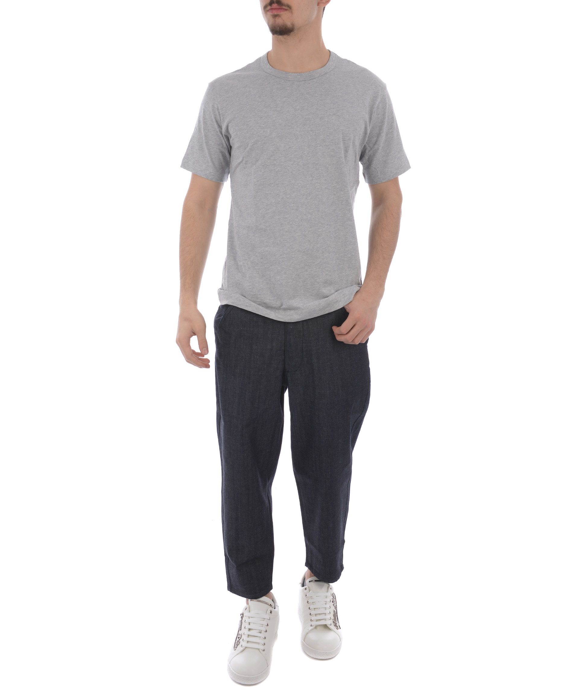 Comme Des Gar ons Shirt Boys Cropped Trousers