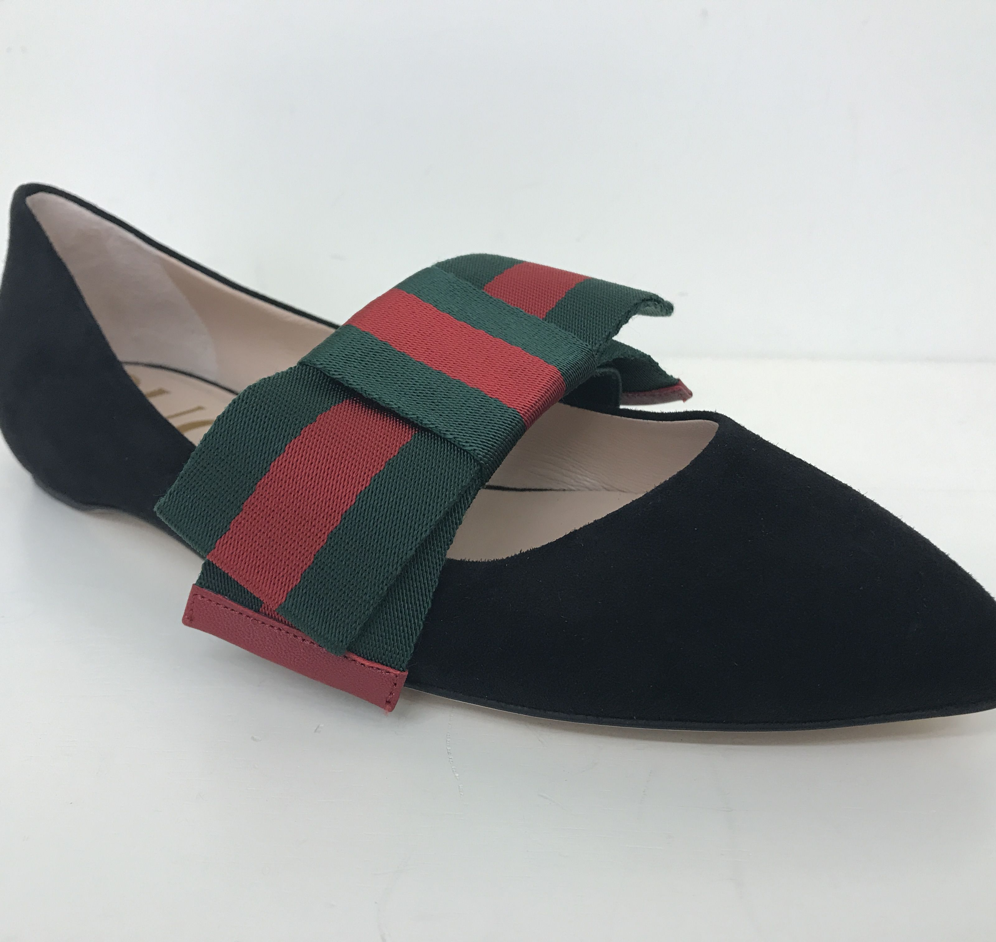 Gucci Vintage Web Slippers