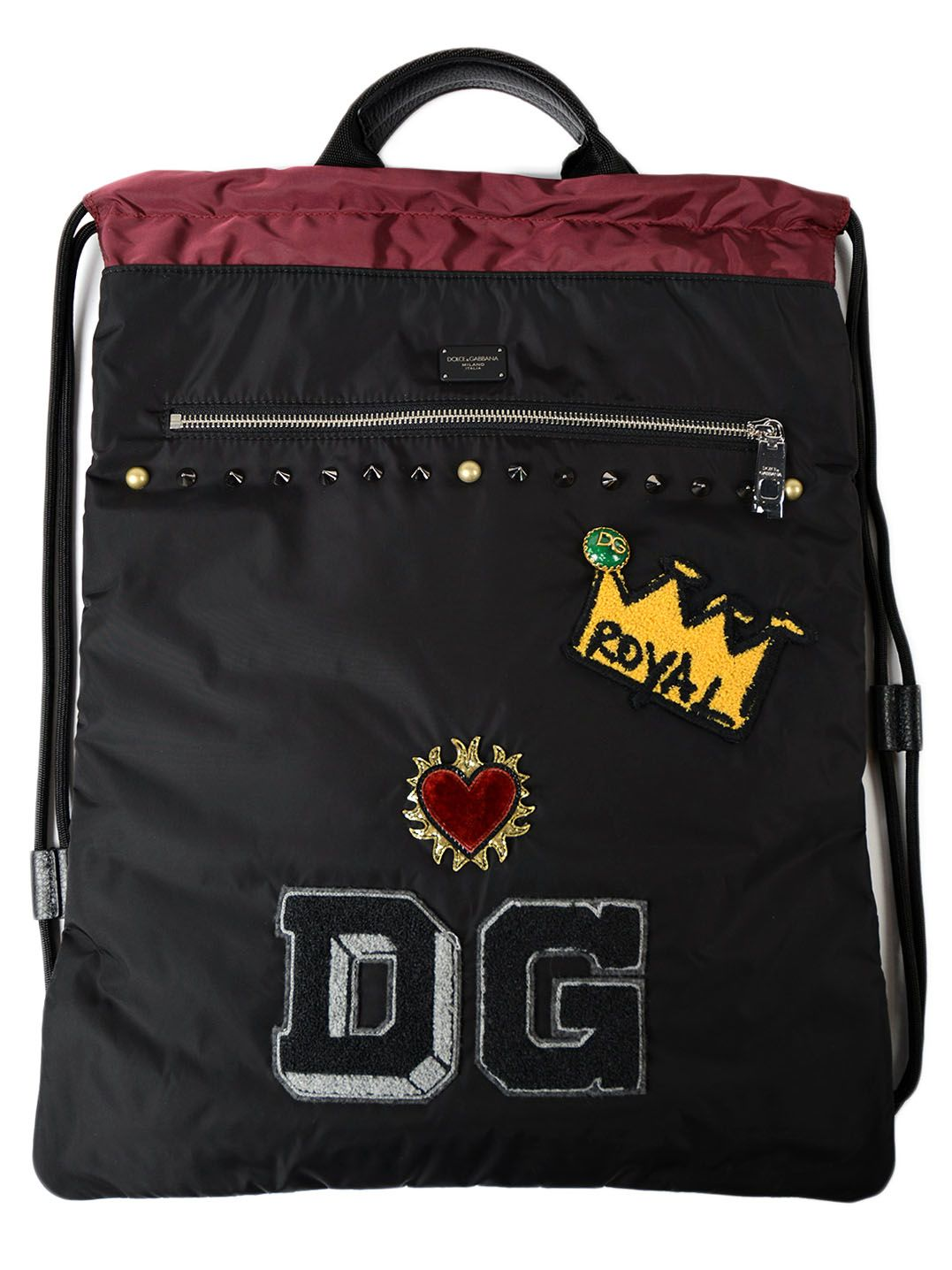 Dolce & Gabbana Backpack Light Nylon Patch