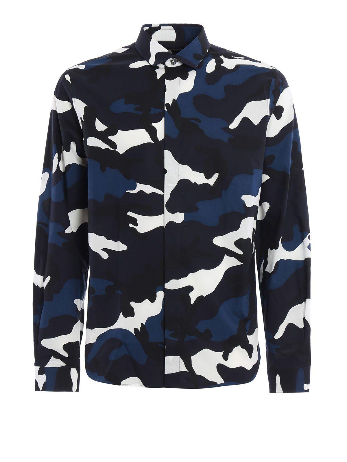 Valentino Camouflage Shirt