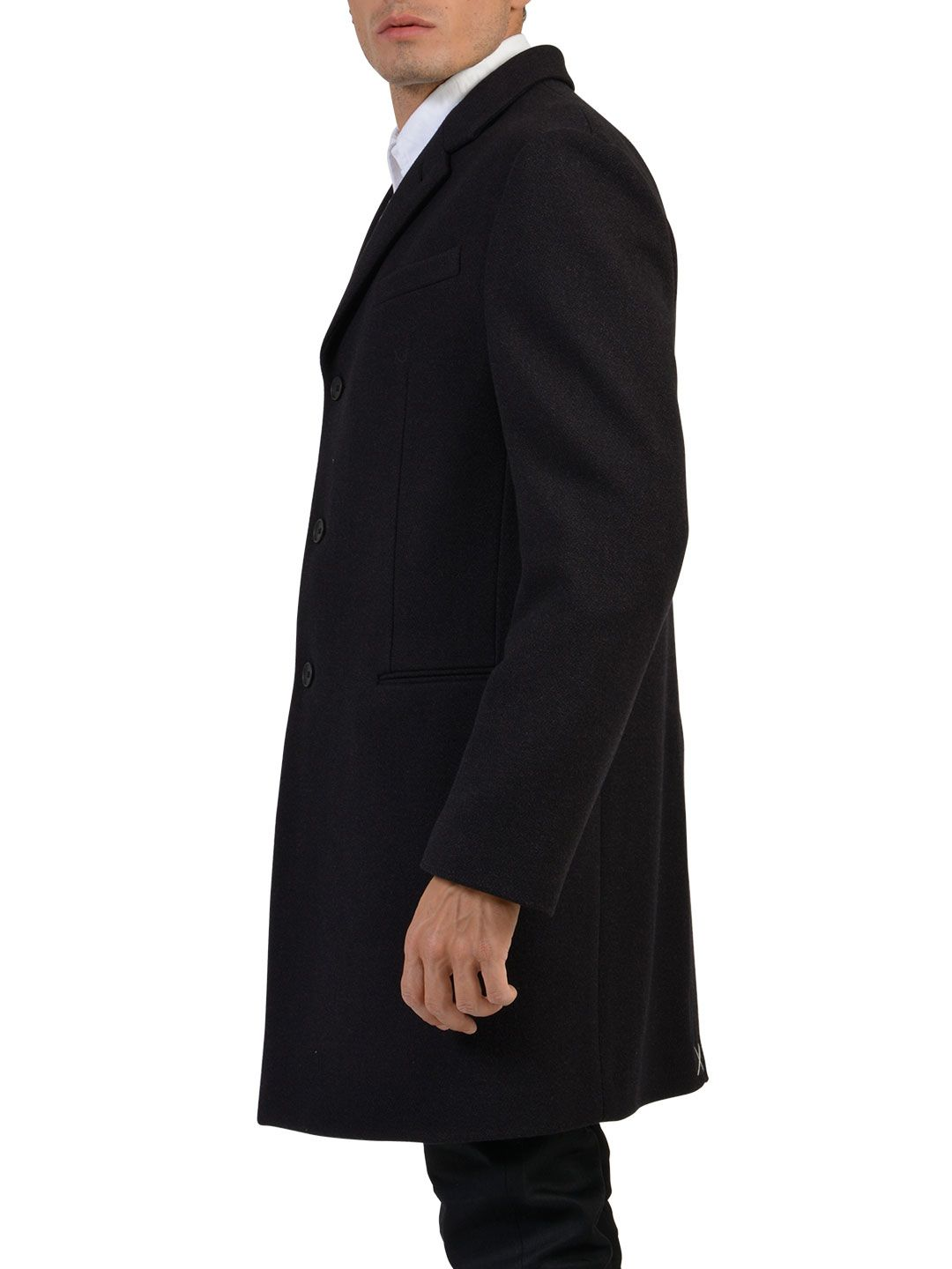 Balenciaga Wool And Cashmere Coat