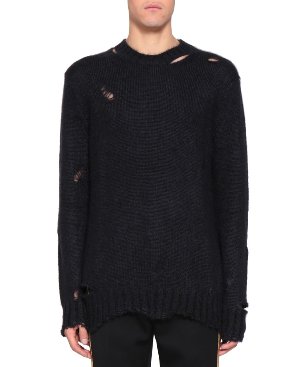 Alexander McQueen Destroyed Wool Sweater