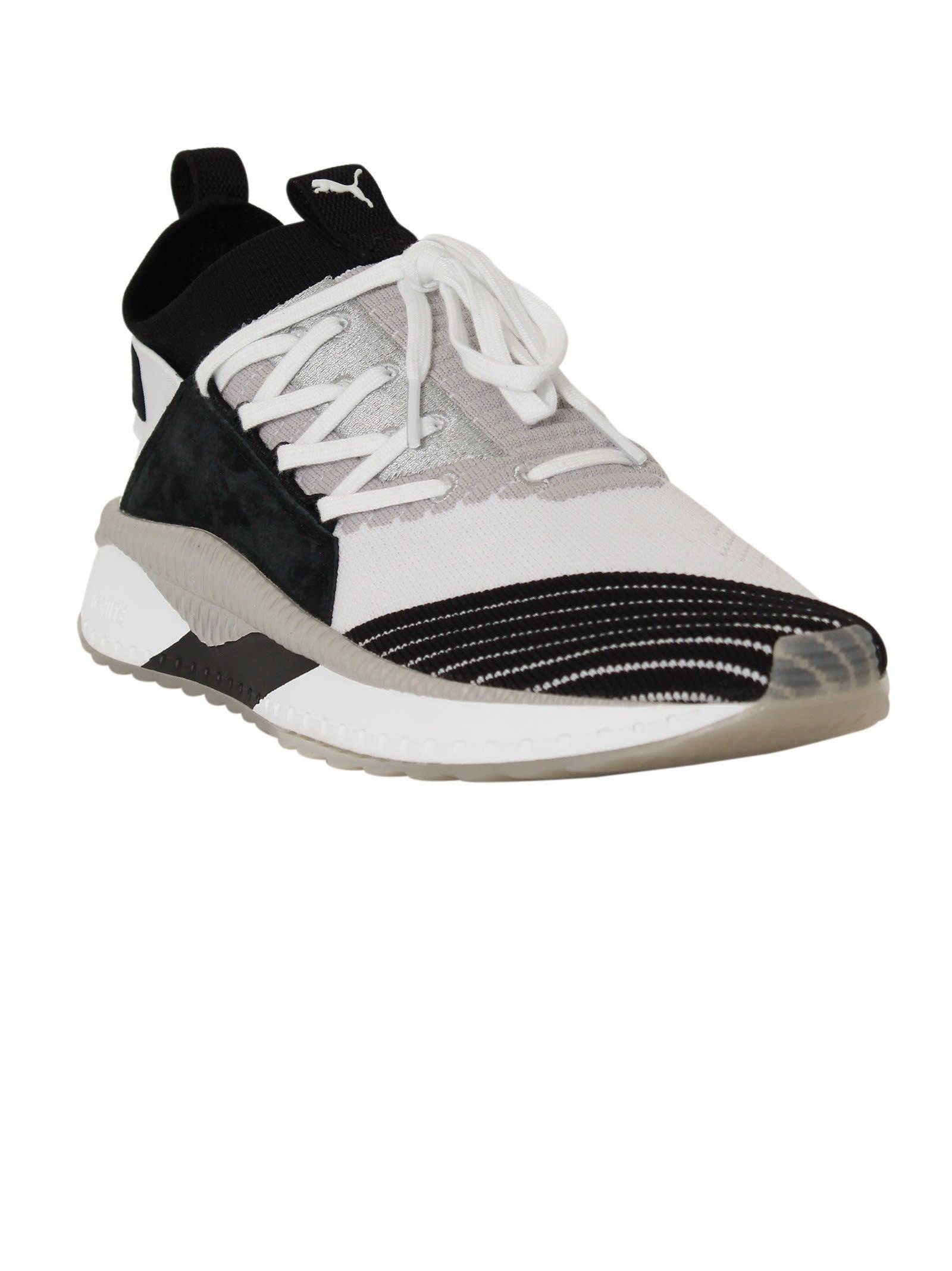 Puma White Black Tsugi Jun Sneakers