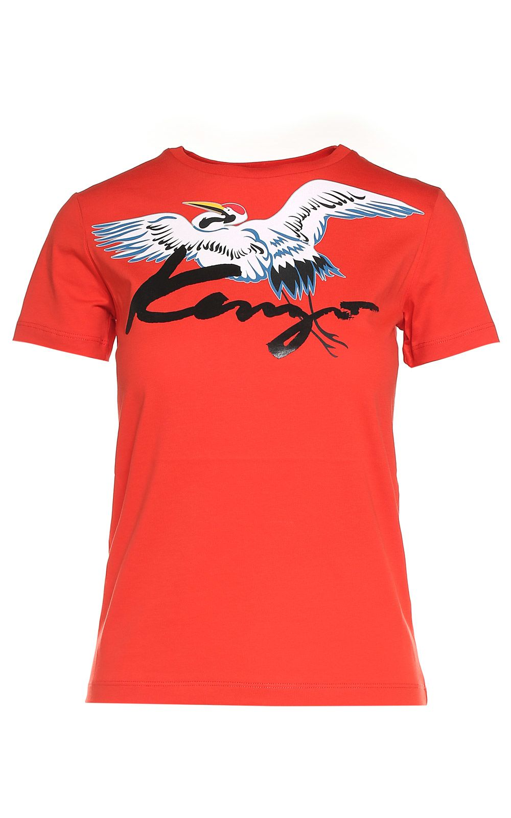 Kenzo The Crane-print Cotton-jersey T-shirt