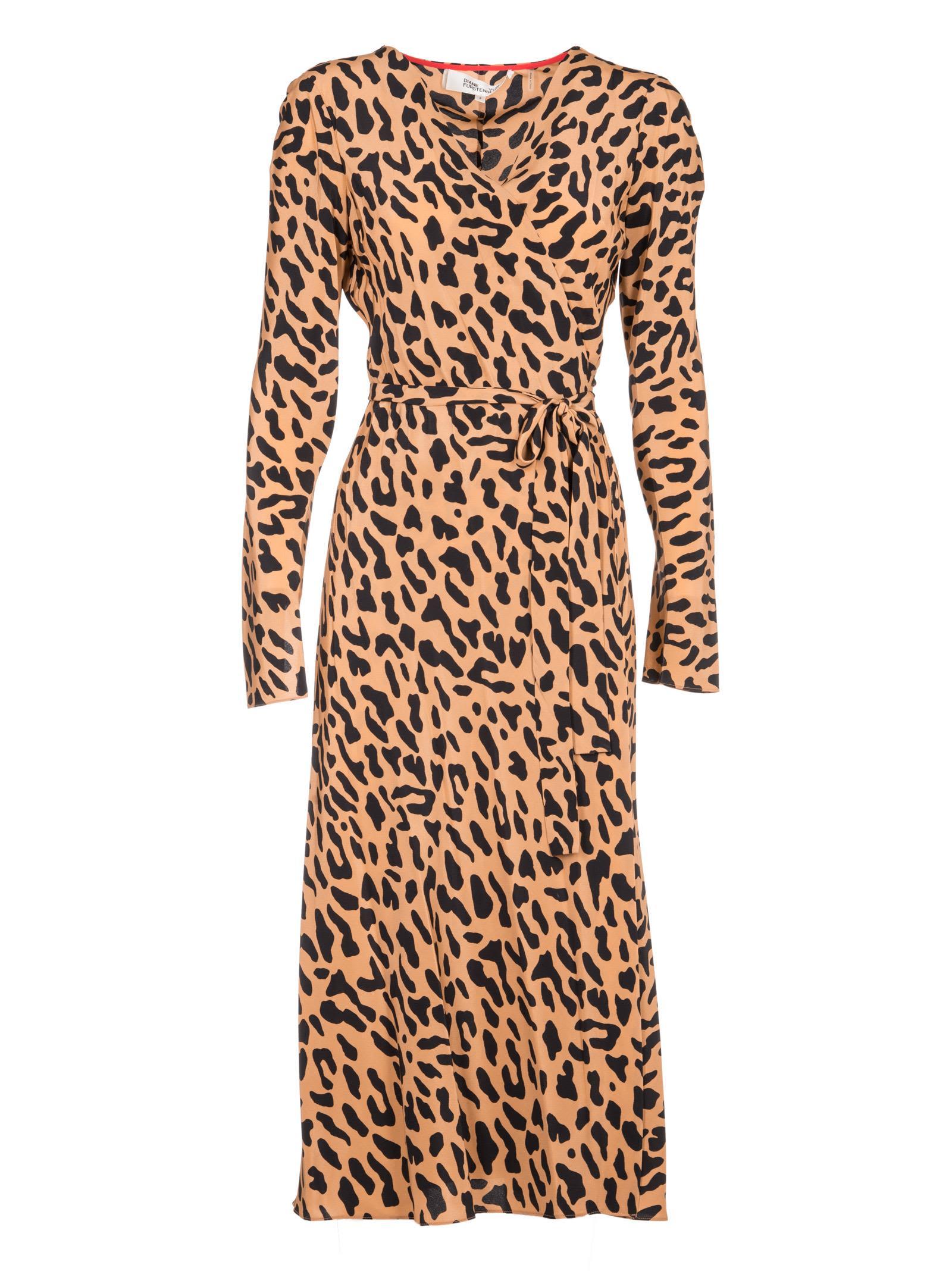 Diane Von Furstenberg Woven Wrapped Dress