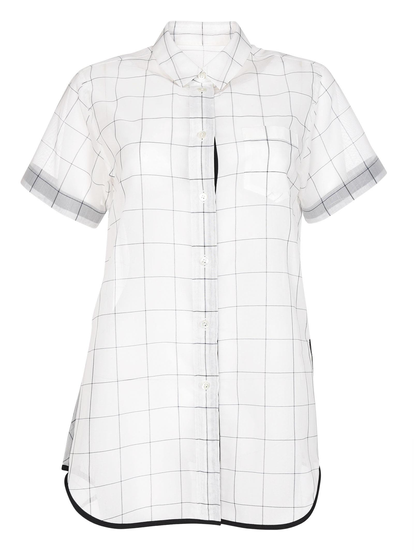 Sacai Patterned Shirt