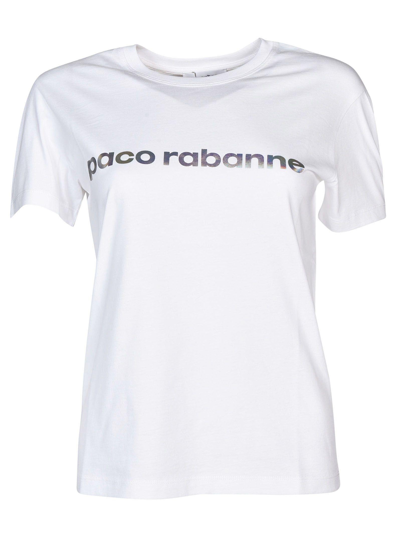 Paco Rabanne Brand Print T-shirt