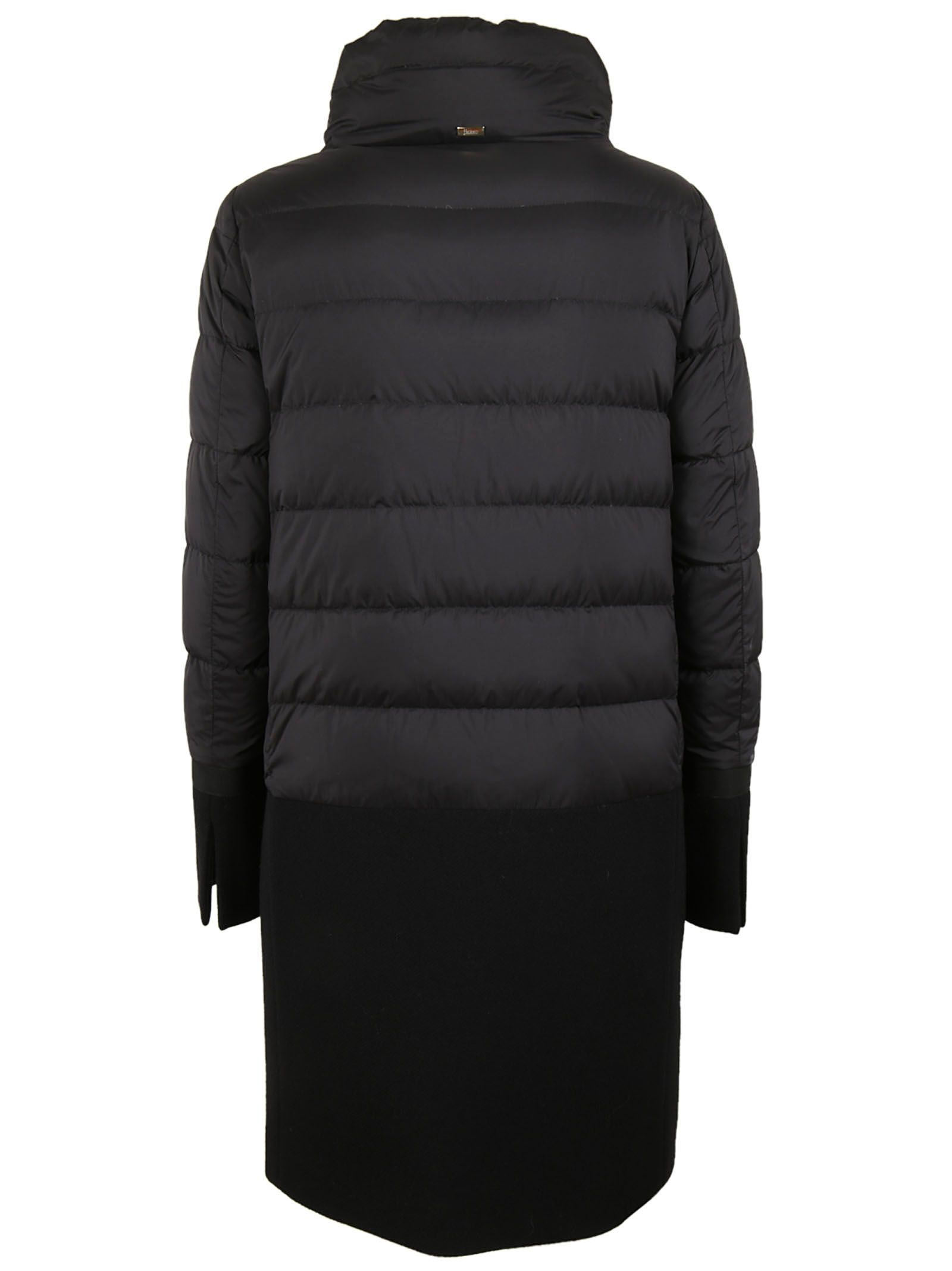 Herno - Herno Padded Coat - Black, Women's Coats | Italist