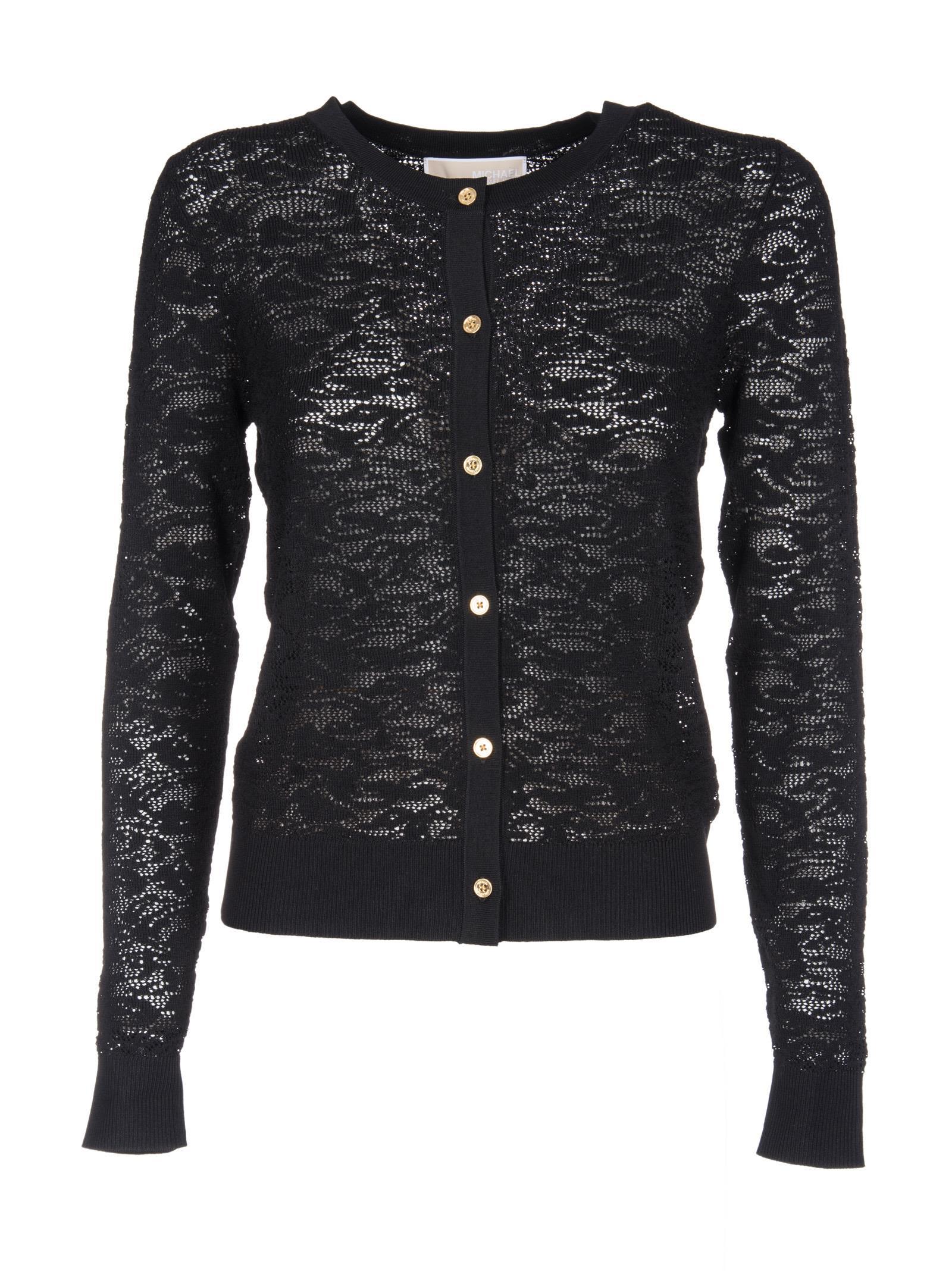 Michael Kors Lace Knit Cardigan