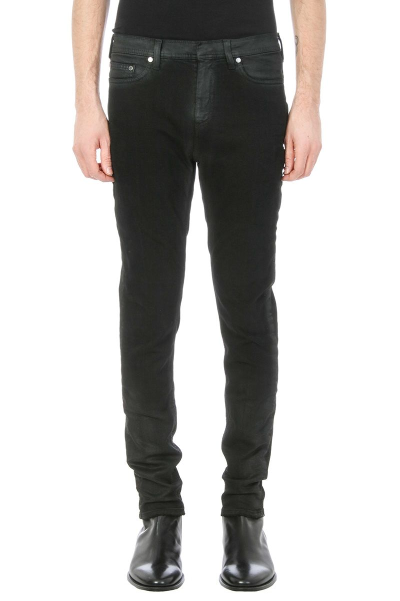 Neil Barrett Black Vintage Denim Jeans