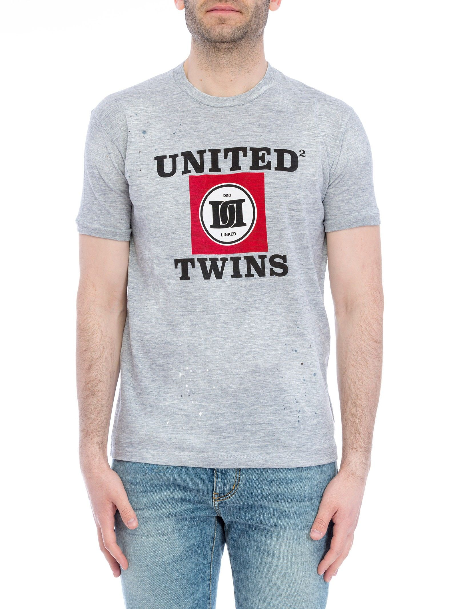 Dsquared united Twins T-shirt