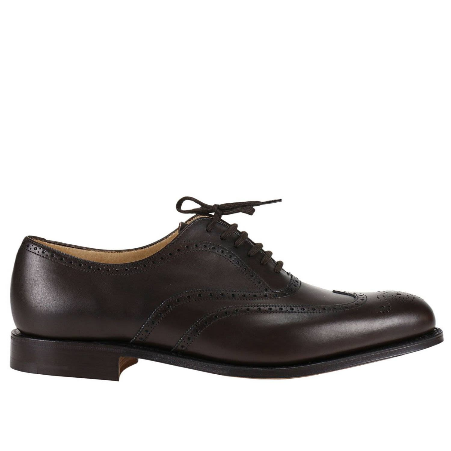 Brogue Shoes Berlin Oxford Shoes With Full Brogue Pattern
