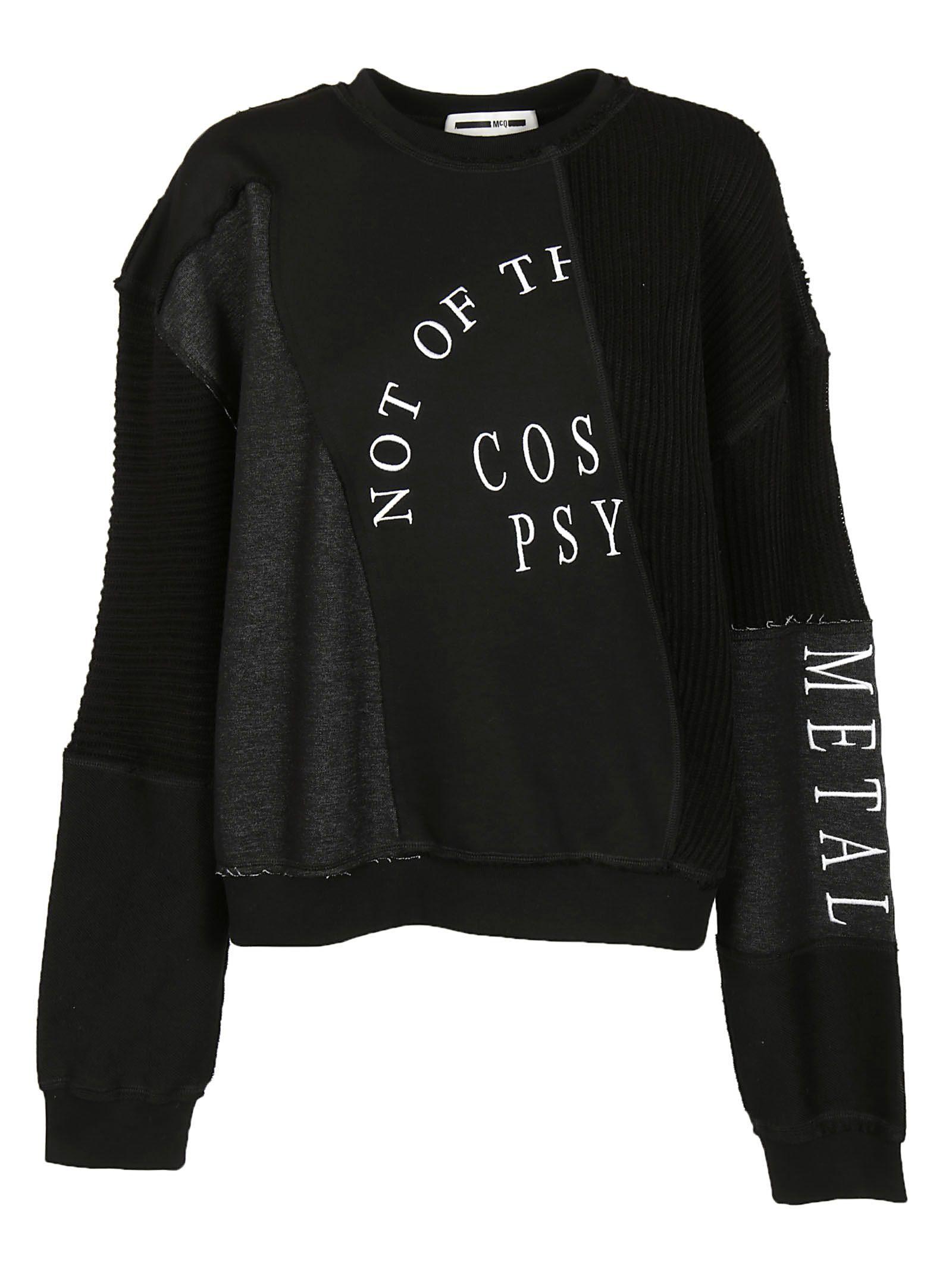 Alexander McQueen Patchwork Sweatshirt