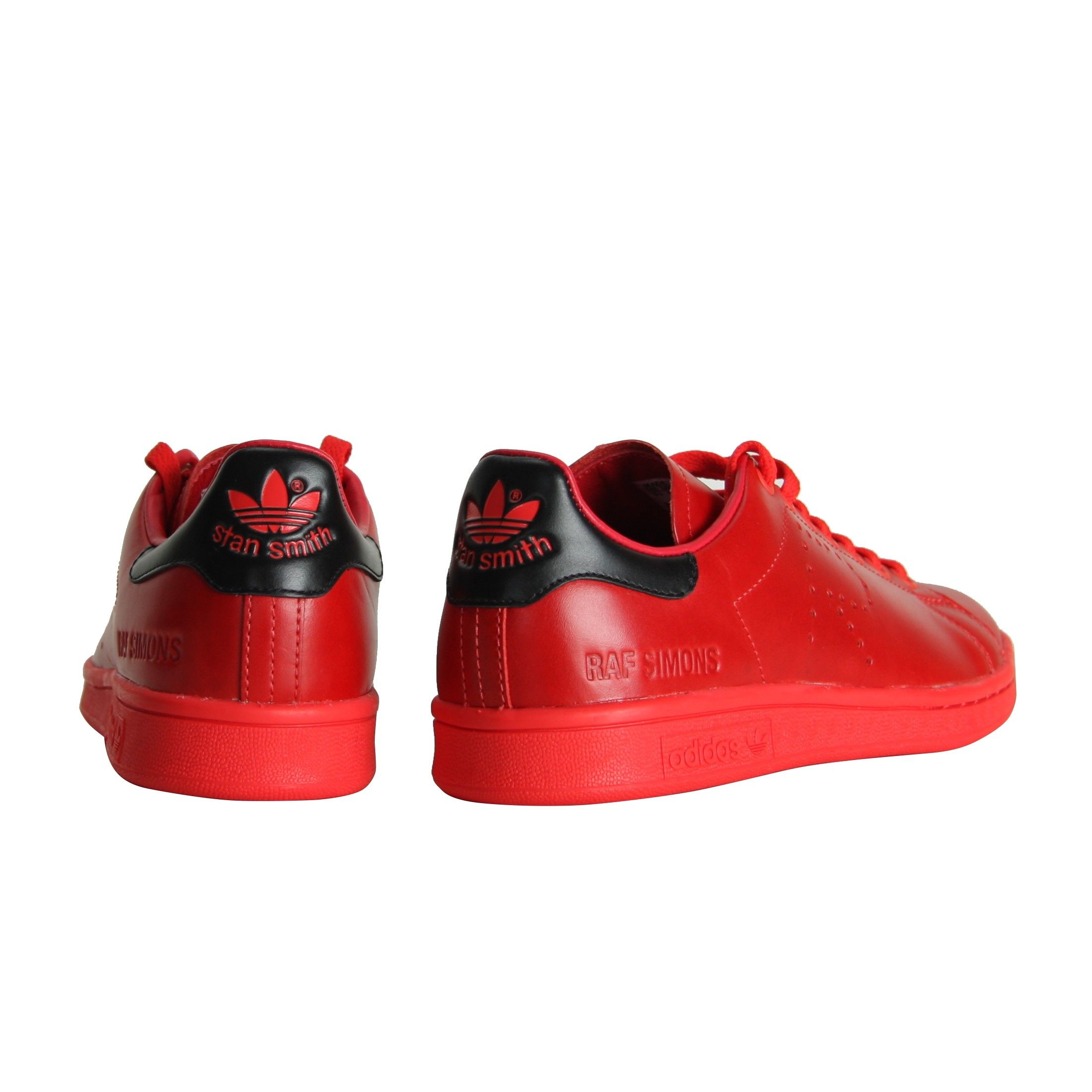 Raf simons sneakers red
