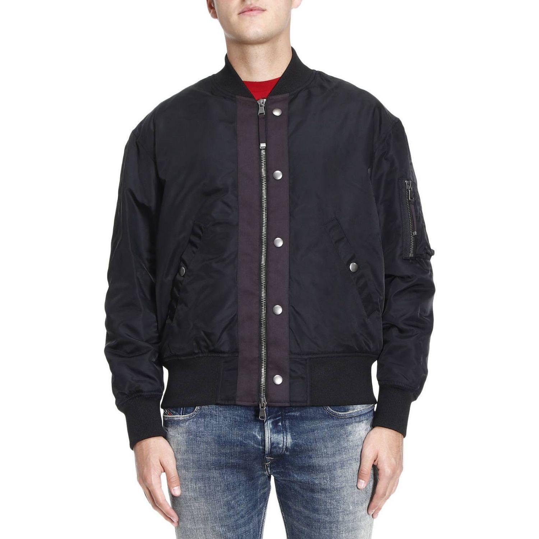 Jacket Jacket Men Diesel Black Gold
