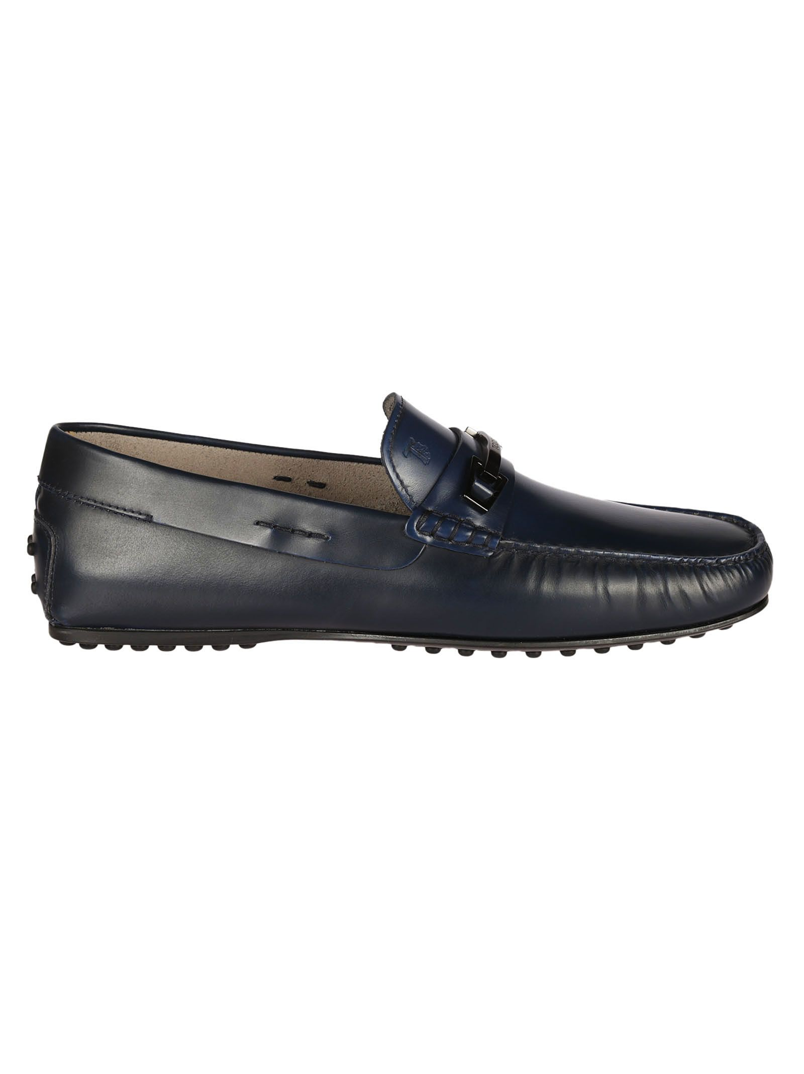Tod's - Tod's Gommino Driving Shoes - Blue, Men's Other Shoes | Italist