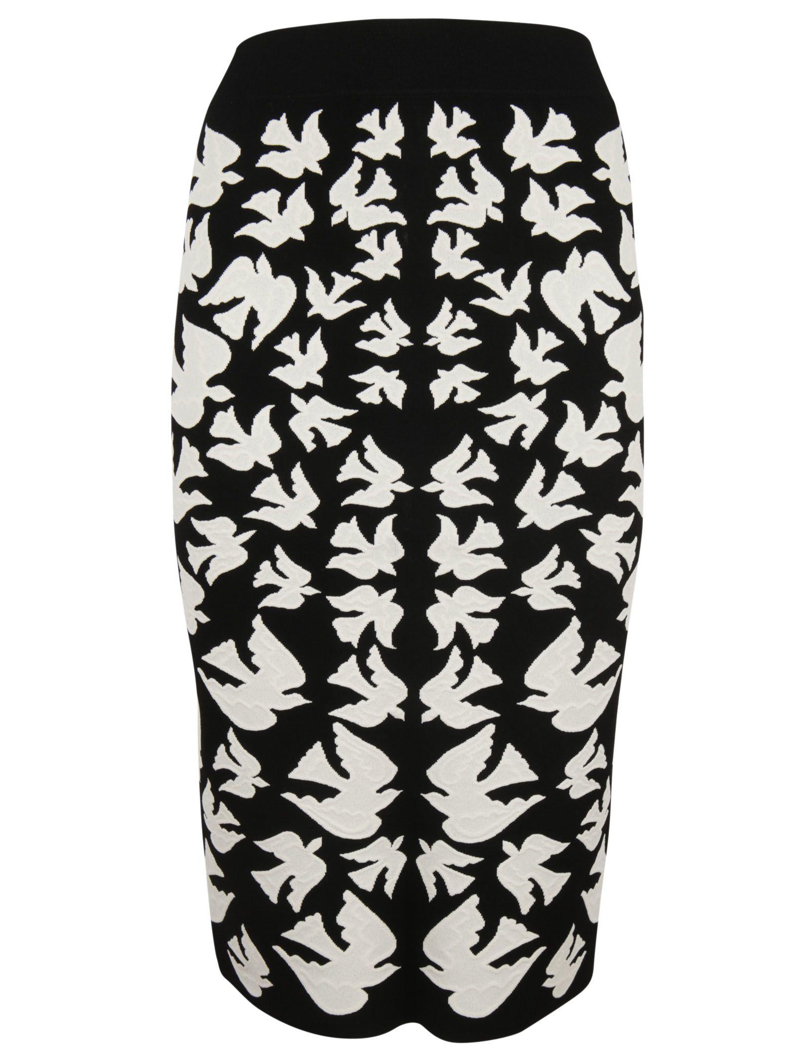 Alexander McQueen Birds Skirt