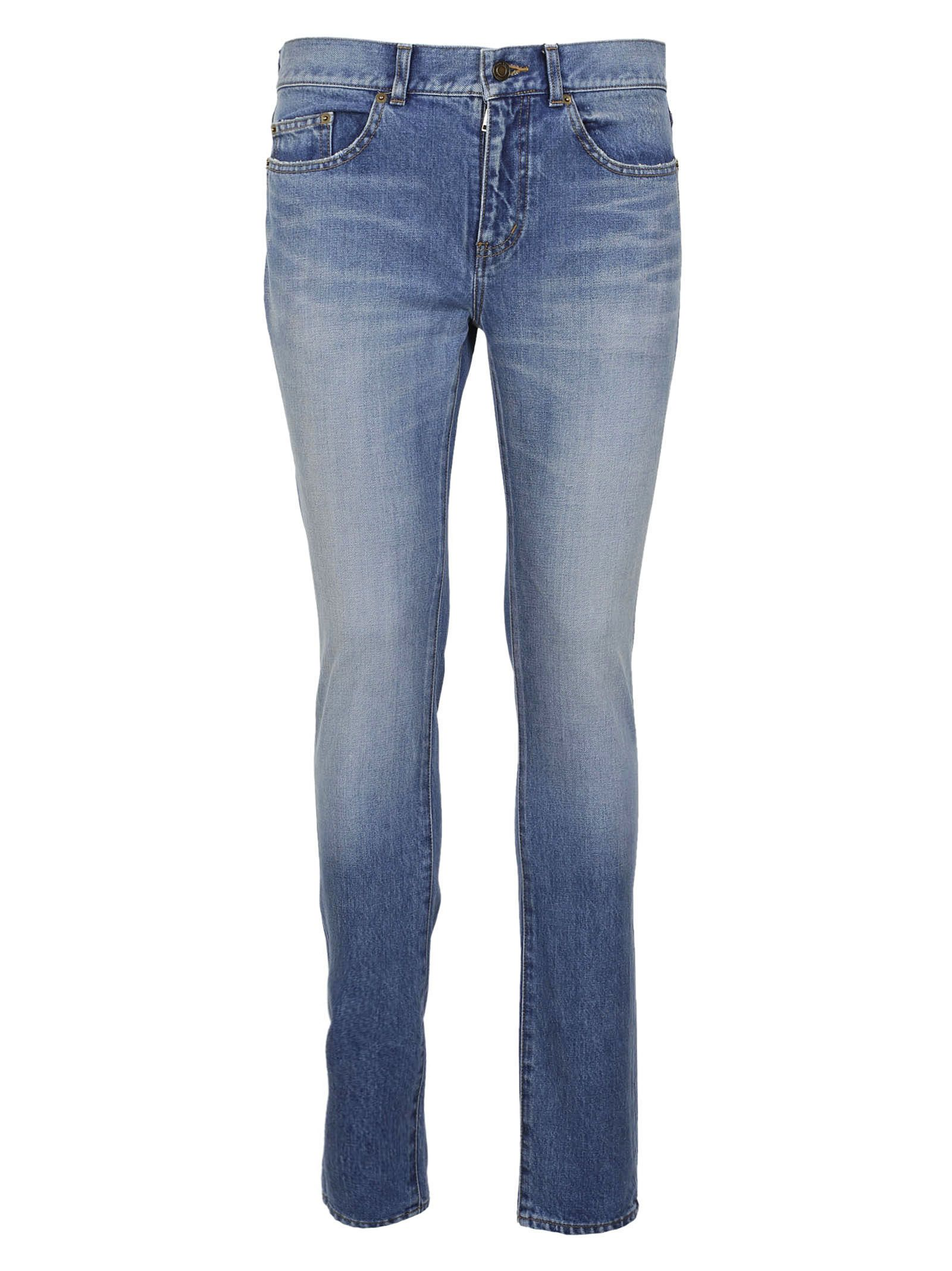 Saint Laurent Low Waisted Skinny Jeans