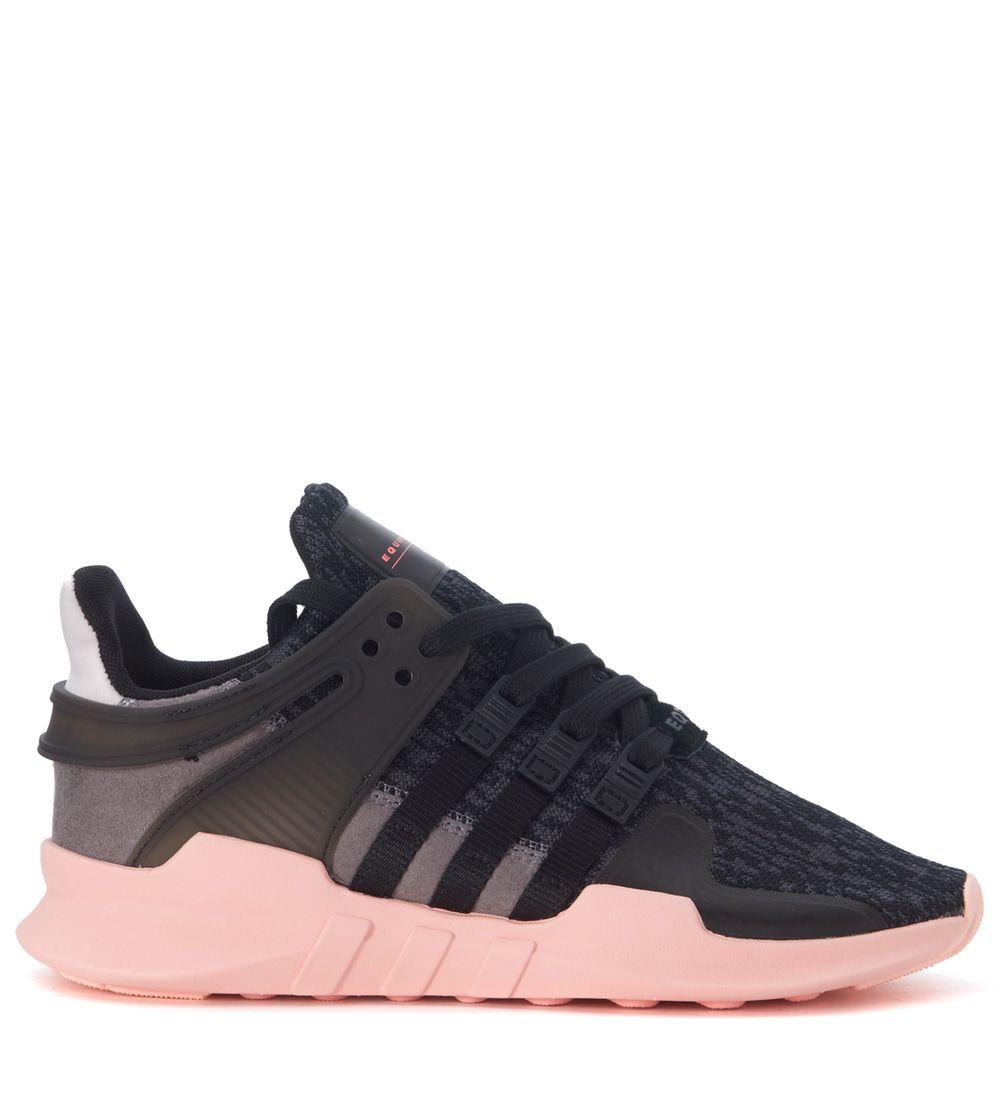 Originals Eqt Support Adv Black And Pink Adidas Sneaker