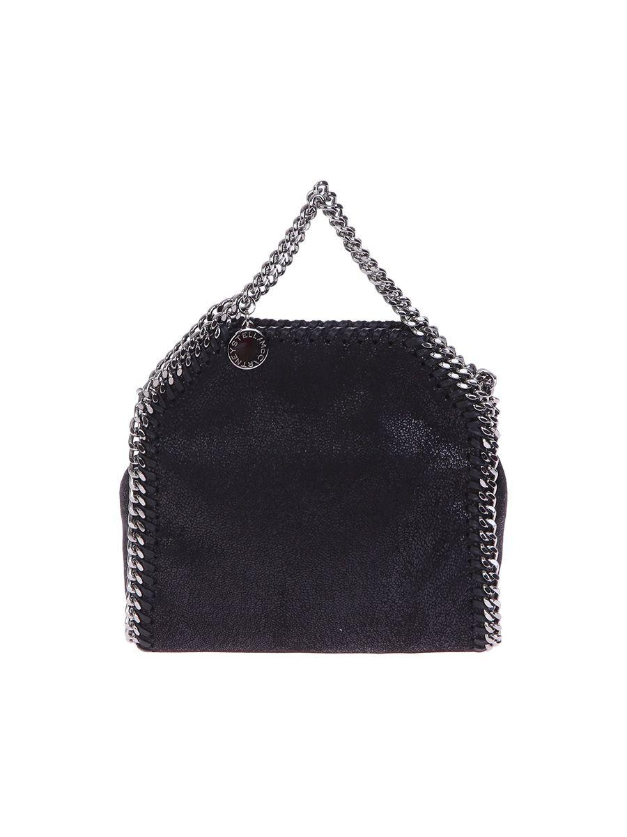 Falabella Faux Leather Shoulder Bag
