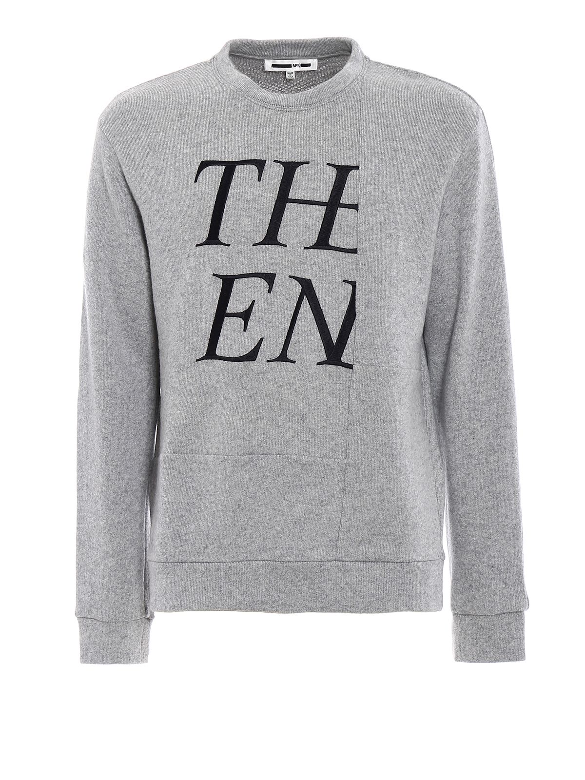 The End Embroidery Sweatshirt