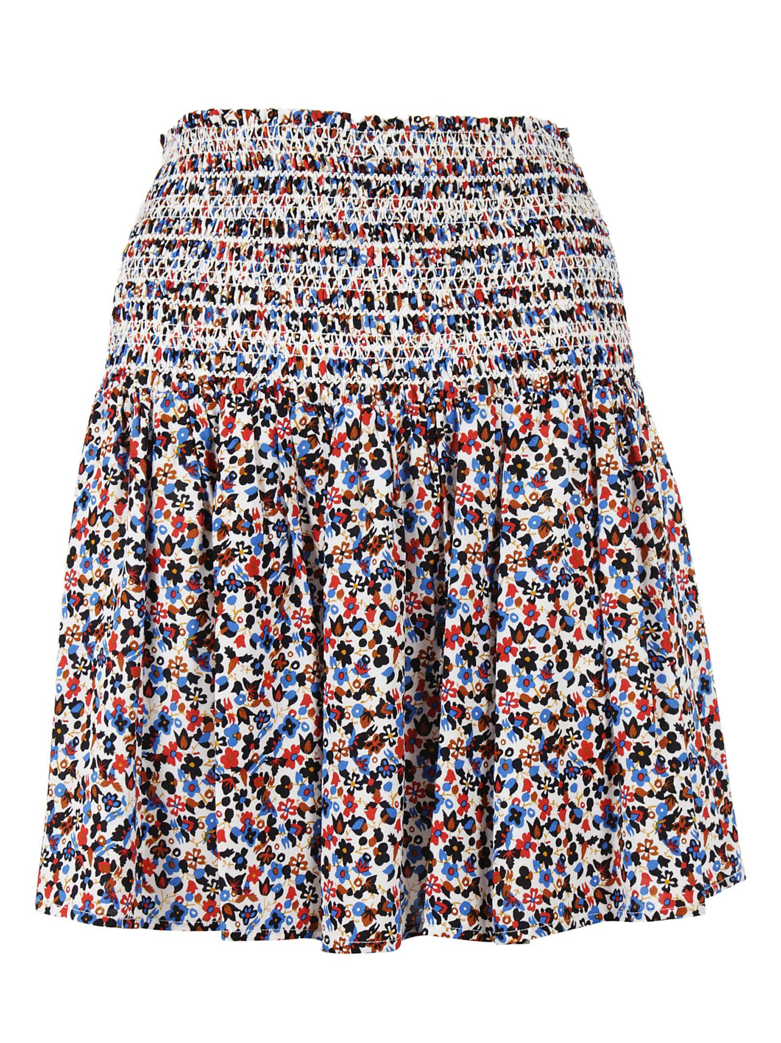 Tory Burch Floral Skirt