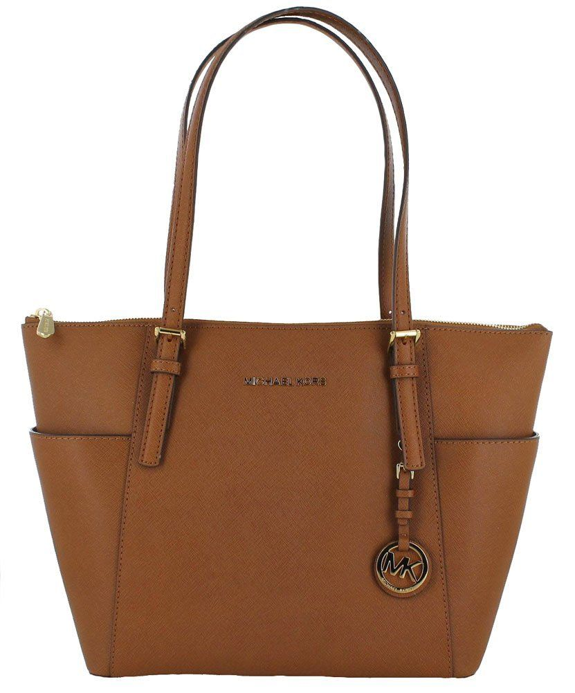 michael michael kors michael michael kors jet set tote brown women 39 s bags italist. Black Bedroom Furniture Sets. Home Design Ideas