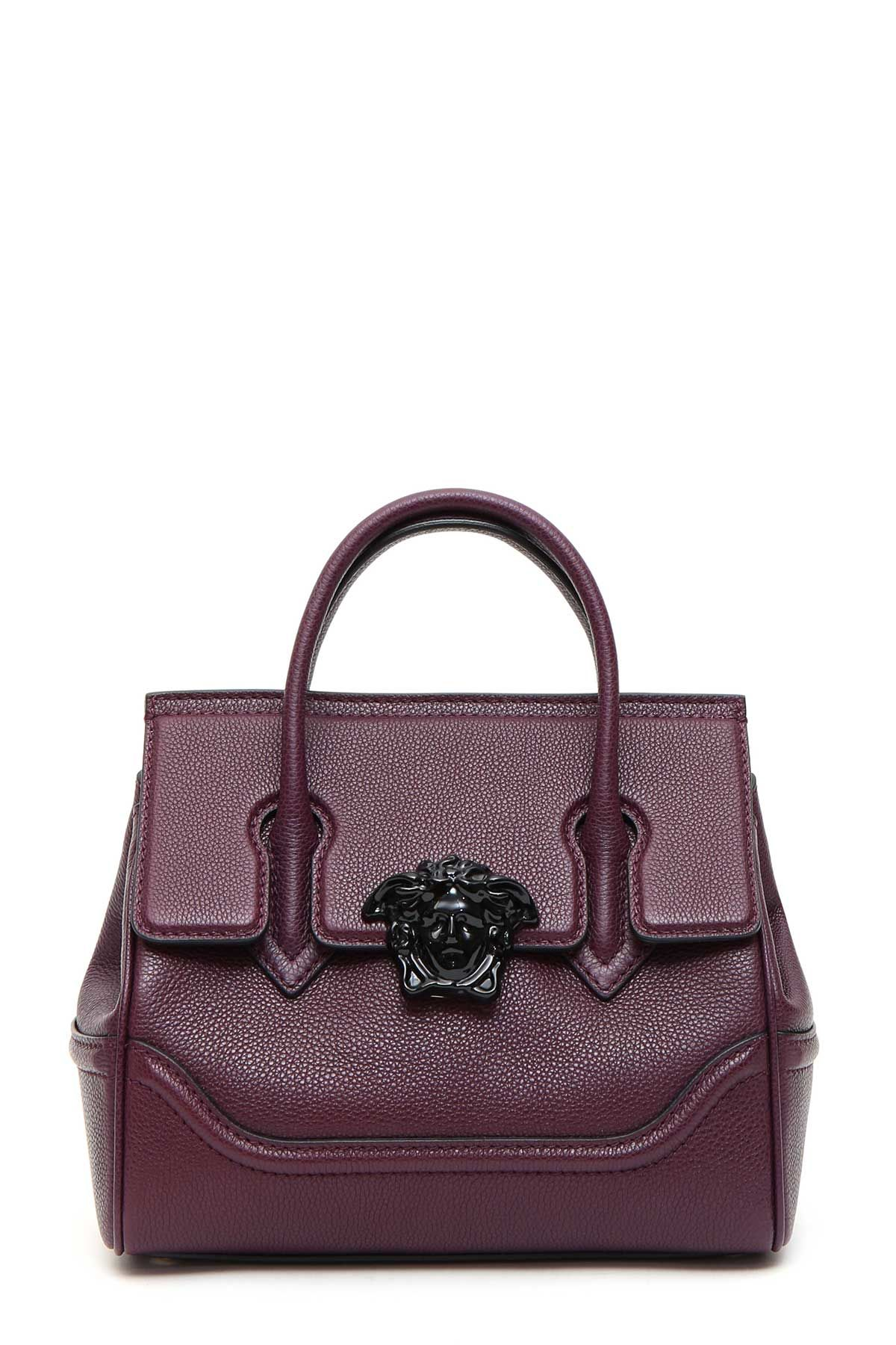Versace Top Handle Vitello Con Grana