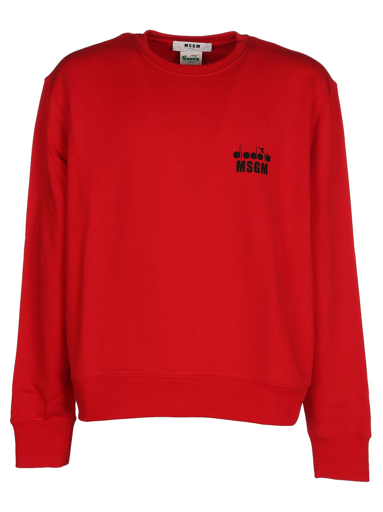 Msgm Diadora Branded Sweatshirt