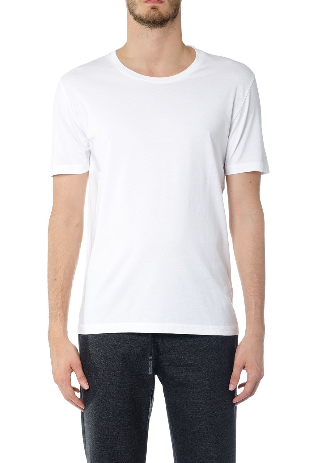 Maison Margiela Crew Neck T-shirt In Cotton
