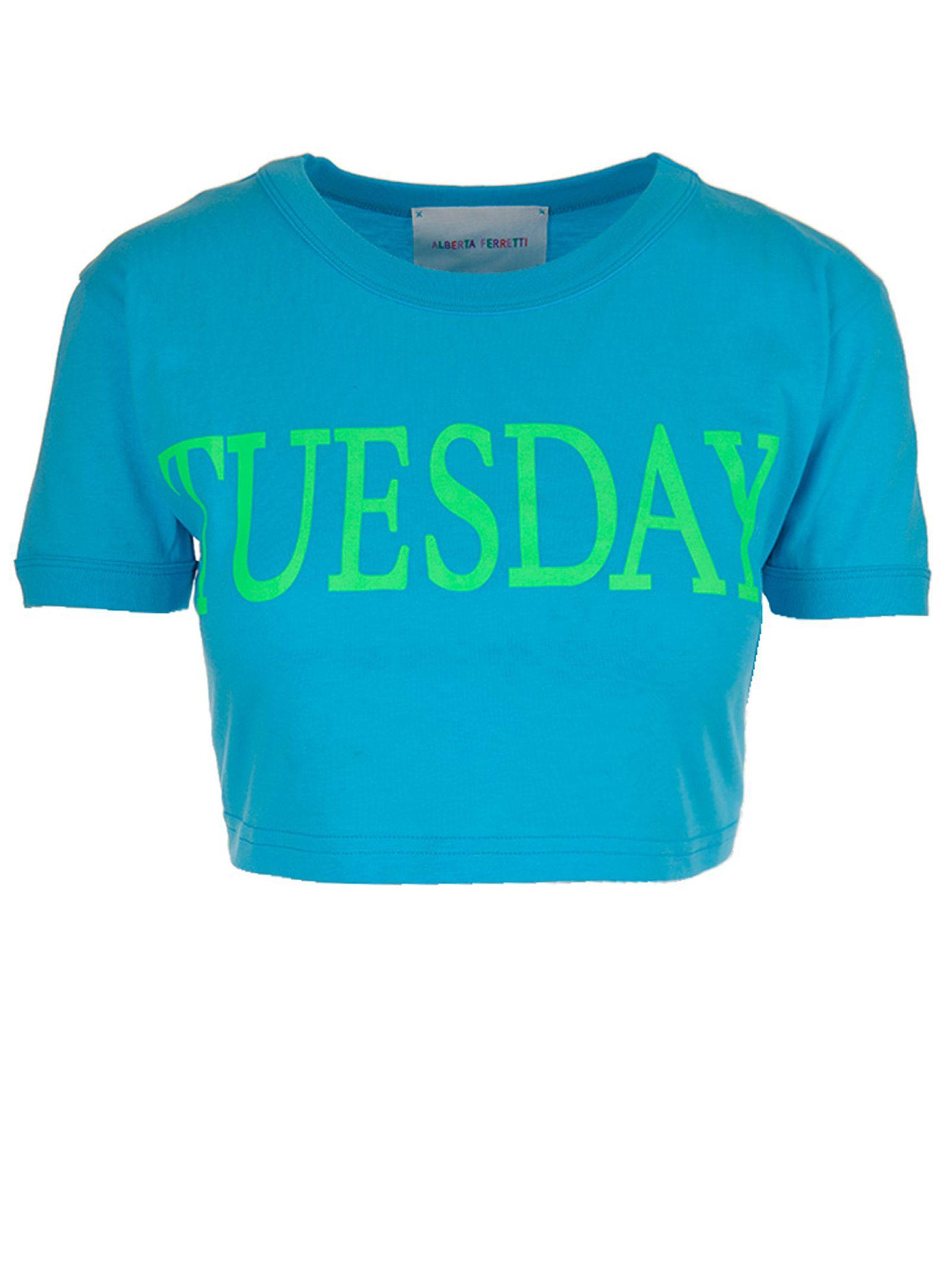 Alberta Ferretti T-shirt Rainbow Week