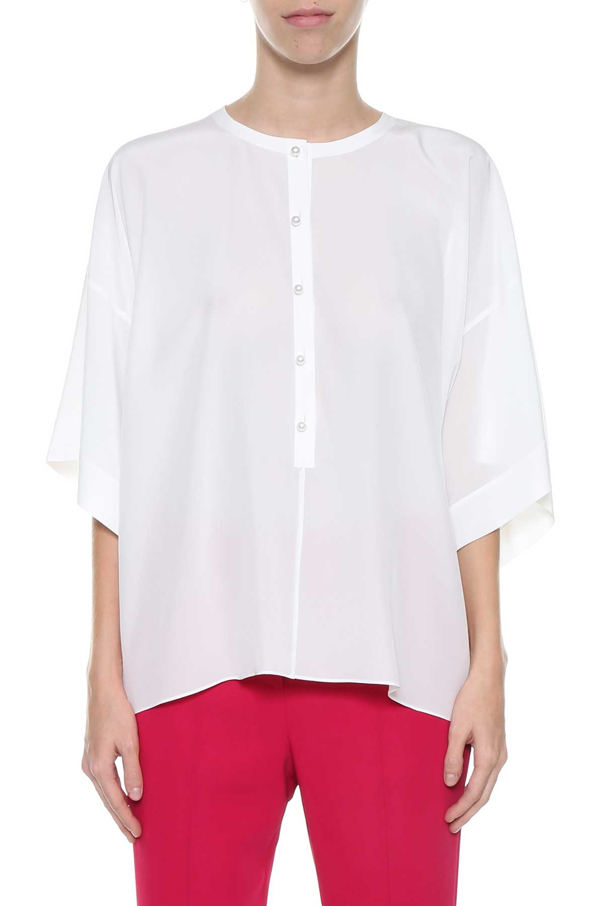 Givenchy Givenchy Top With Pearl Buttons