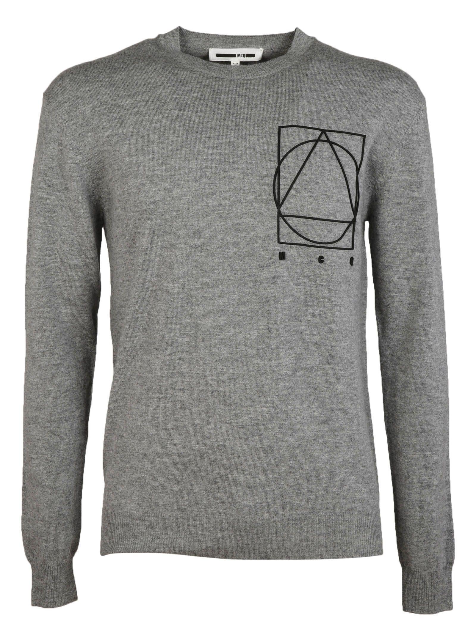 McQ Alexander McQueen Logo Detail Sweater