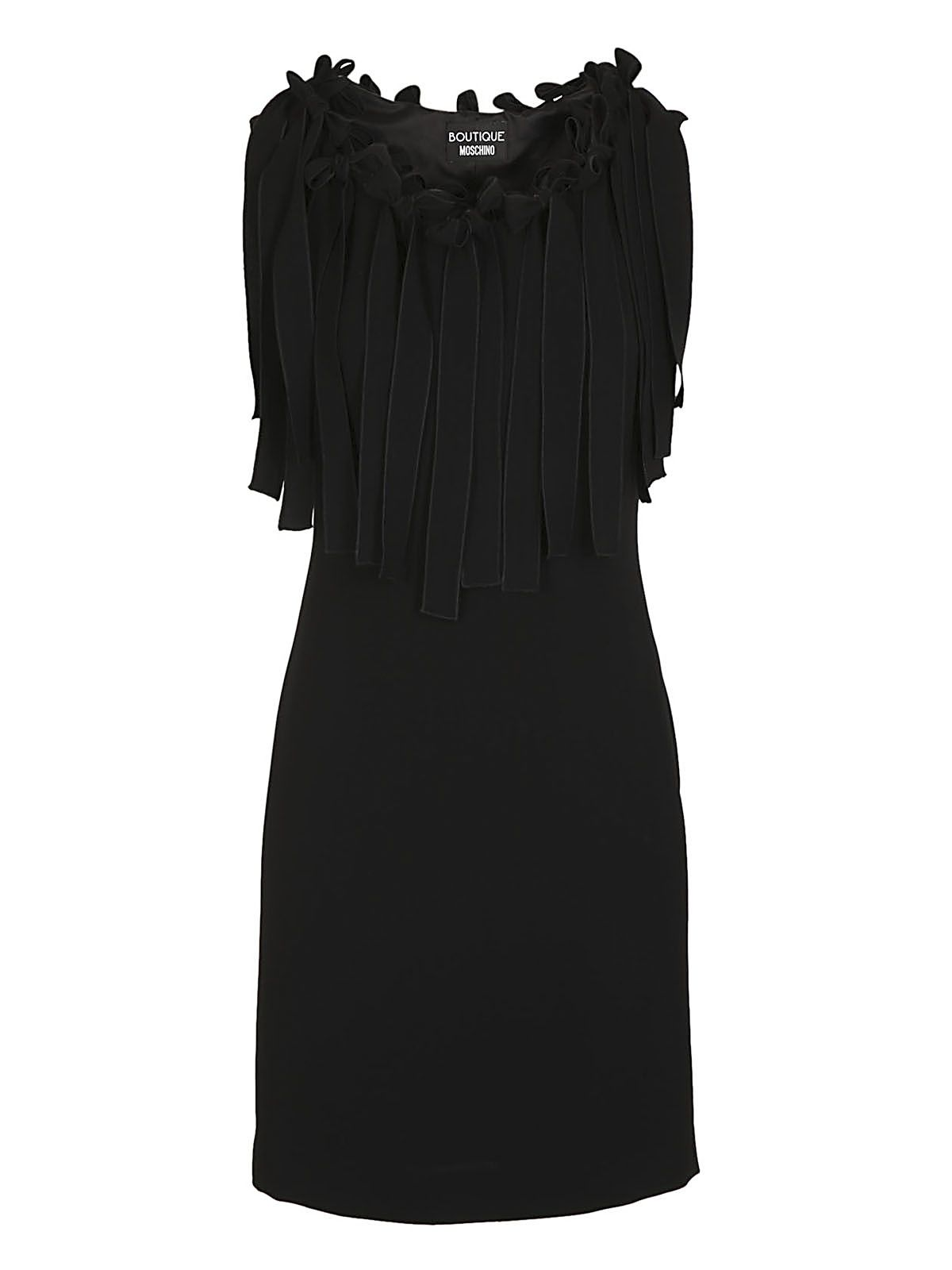 Boutique Moschino Fringe Dress