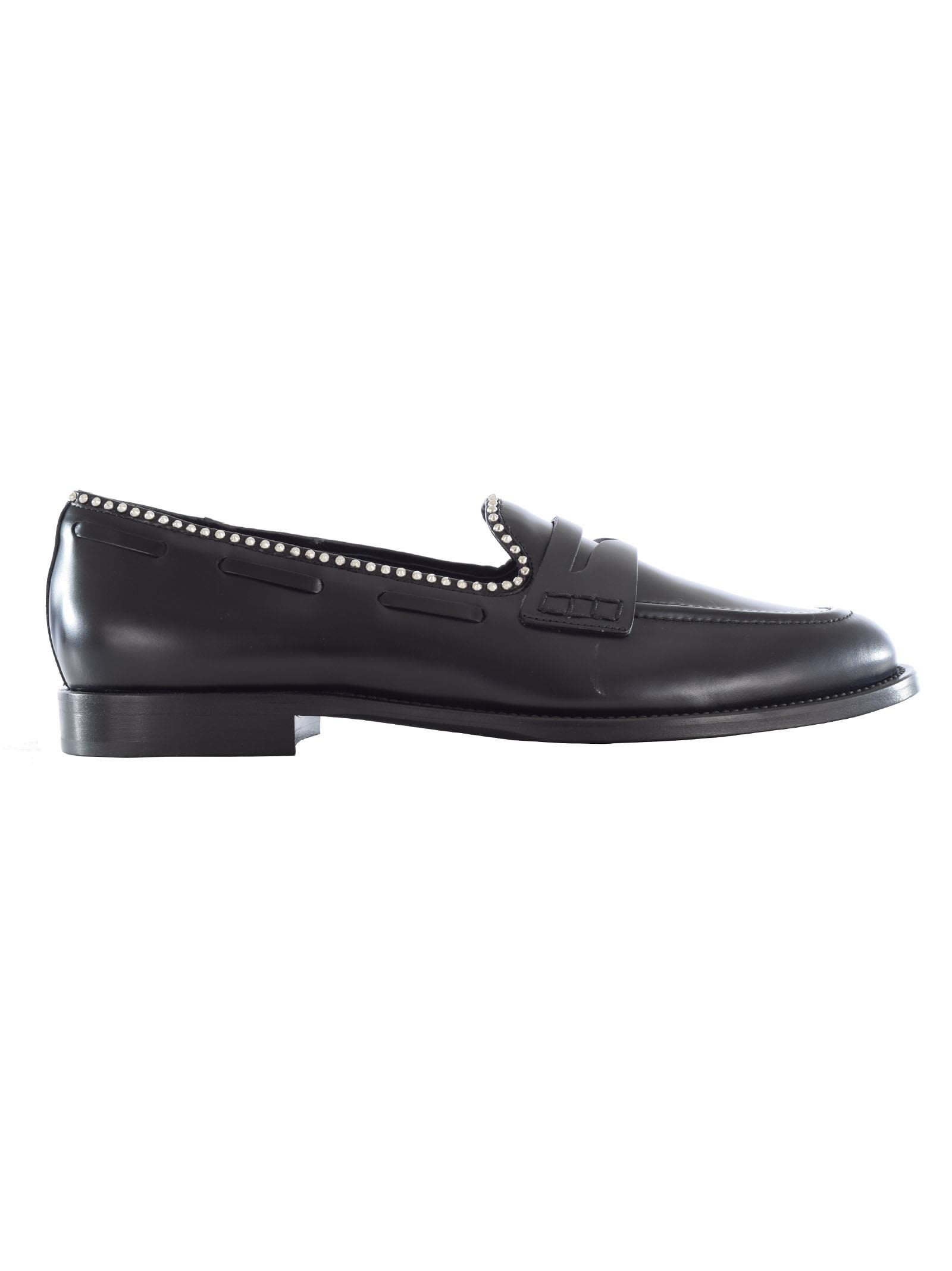Giuseppe Zanotti Micro Stud Loafers