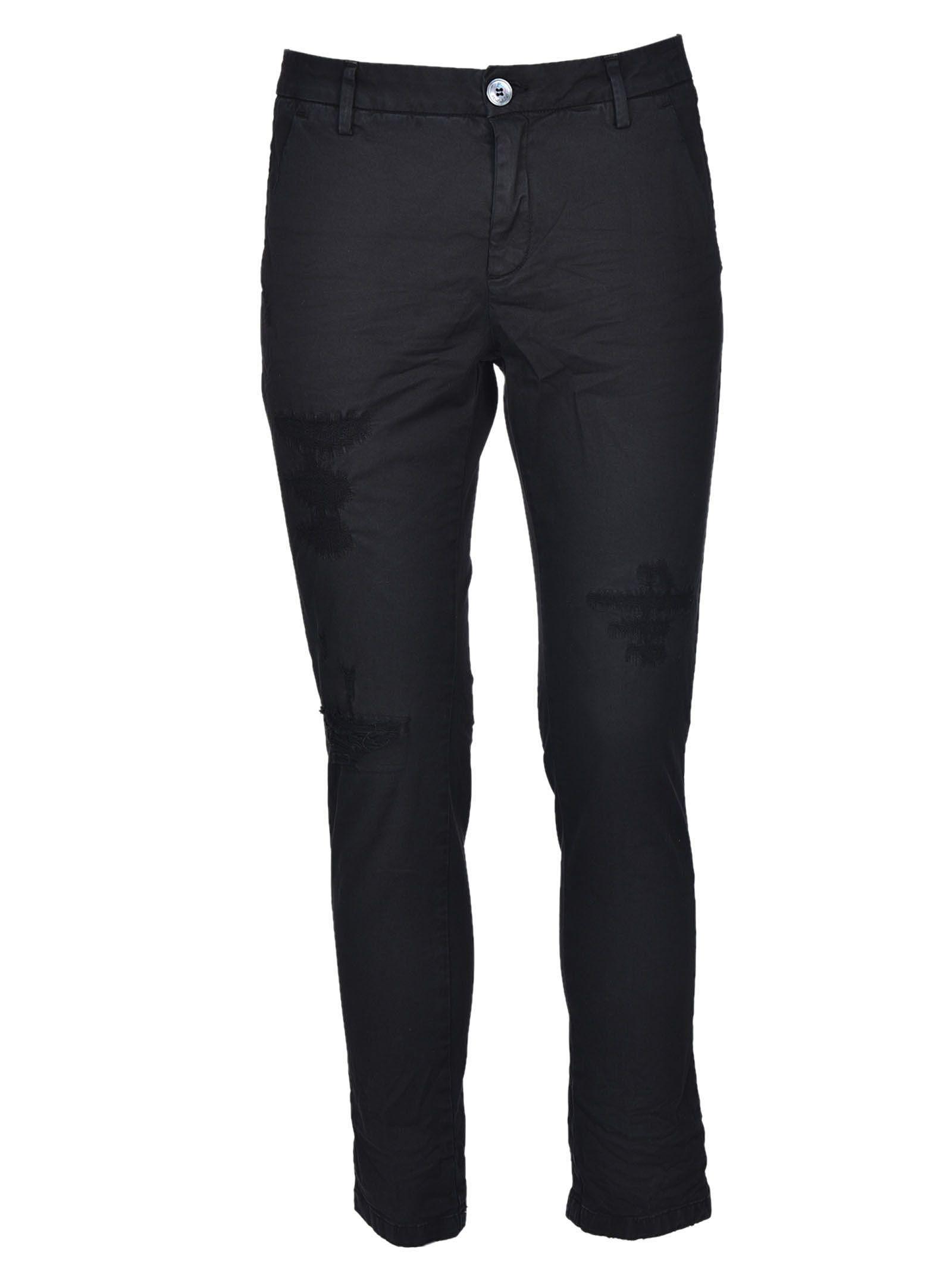 Aglini Distressed Jeans