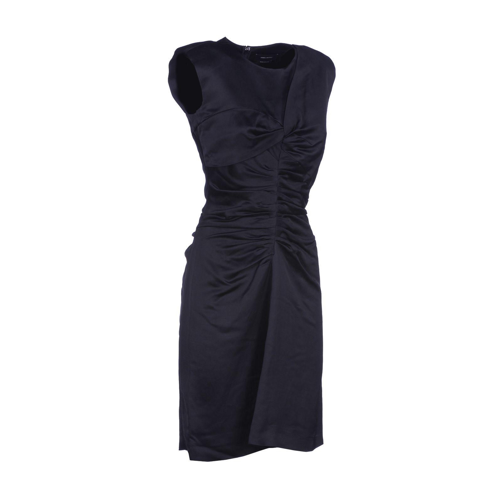 Isabel marant isabel marant esta dress black women 39 s for Isabel marant shirt dress