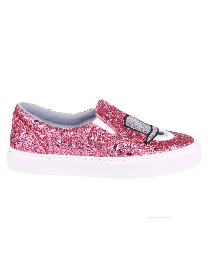 Chiara Ferragni Findmeinwonderland Slip-on Sneakers